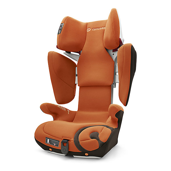 Автокресло Concord Transformer T, 15-36 кг, Rusty OrangeГруппа 2-3  (от 15 до 36 кг)<br>Характеристики автокресла:<br><br>• группа 2-3;<br>• возраст ребенка: от 3 до 12 лет;<br>• вес ребенка: 15-36 кг;<br>• способ установки: по ходу движения автомобиля;<br>• 2 способа крепления: система IsoFix или штатные ремни безопасности;<br>• компактный ударопрочный каркас;<br>• защита от боковых ударов;<br>• регулировка наклона спинки;<br>• регулировка подголовника;<br>• регулировка размера кресла;<br>• ортопедические свойства спинки и основания;<br>• встроенный пневмопривод;<br>• спинка регулируется по высоте с одновременной регулировкой ширины плеч с помощью пневмомеханизма;<br>• высокая степень эргономики;<br>• высокие подлокотники с мягкой обивкой защищают тазовые суставы и исключают съезжание ребенка вбок во время аварии;<br>• материал: пластик, полиэстер;<br>• стандарт безопасности: ECE R44/04.<br><br>Размеры:<br><br>• размер автокресла min: 46х49х62 см;<br>• размер автокресла max: 46х55х82 см;<br>• высота подголовника: 61-81 см;<br>• ширина 31 см;<br>• глубина: 27 см;<br>• ширина в плечах: 26-36 см;<br>• вес автокресла: 7,7 кг;<br>• вес в упаковке: 10,5 кг.<br><br>Автокресло Transformer T, 15-36 кг, Concord, Rusty Orange можно купить в нашем интернет-магазине.<br><br>Ширина мм: 450<br>Глубина мм: 450<br>Высота мм: 640<br>Вес г: 10500<br>Цвет: оранжевый<br>Возраст от месяцев: 36<br>Возраст до месяцев: 144<br>Пол: Унисекс<br>Возраст: Детский<br>SKU: 5485163