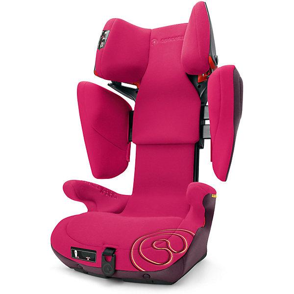 Автокресло Concord Transformer X-BAG, 15-36 кг, Rose PinkГруппа 2-3  (от 15 до 36 кг)<br>Характеристики автокресла:<br><br>• группа 2-3;<br>• возраст ребенка: от 3 до 12 лет;<br>• вес ребенка: 15-36 кг;<br>• способ установки: по ходу движения автомобиля;<br>• 2 способа крепления: система IsoFix или штатные ремни безопасности;<br>• компактный ударопрочный каркас;<br>• защита от боковых ударов;<br>• регулировка наклона спинки;<br>• регулировка подголовника;<br>• регулировка размера кресла;<br>• ортопедические свойства спинки и основания;<br>• встроенный пневмопривод;<br>• размер автокресла: 46х45х64 см;<br>• высота подголовника: 62-82 см;<br>• вес автокресла: 9,7 кг;<br>• материал: пластик, полиэстер;<br>• стандарт безопасности: ECE R44/04.<br><br>Автокресло Transformer X-BAG, 15-36 кг, Concord, Rose Pink можно купить в нашем интернет-магазине.<br>Ширина мм: 450; Глубина мм: 450; Высота мм: 640; Вес г: 9700; Цвет: розовый; Возраст от месяцев: 36; Возраст до месяцев: 144; Пол: Женский; Возраст: Детский; SKU: 5485170;