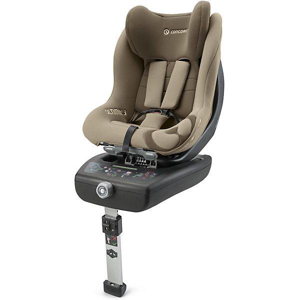 Автокресло Concord Ultimax 3, 0-18 кг, Almond BeigeГруппа 0-1 (до 18 кг)<br>Характеристики автокресла:<br><br>• группа автокресла: 0/1 ;<br>• возраст ребенка: от рождения до года;<br>• вес ребенка: до 18 кг;<br>• способ установки: против хода движения автомобиля, по ходу движения автомобиля;<br>• способ крепления: база Isofix, дополнительный упор в пол с регулируемой высотой ножки;<br>• усовершенствованная версия предыдущей модели - автокресла Concord Ultimax.2;<br>• возможность регулировки автокресла по наклону в положении против хода движения;<br>• кресельная чаша эргономичной формы.<br><br>Особенности автокресла:<br><br>• высокие боковины для защиты от боковых ударов, инновационная система боковой защиты;<br>• подголовник эргономической формы регулируется в 6-ти положениях по высоте;<br>• ремни безопасности регулируются автоматически;<br>• положение для сна, переводится одной рукой;<br>• мягкий, дышащий гипоаллергенный материал;<br>• вкладыш для новорожденных идет в комплекте с автокреслом;<br>• съемный тазовый вкладыш для крупных детей (не рекомендуется снимать до достижения веса в 9 кг);<br>• съемные чехлы, можно стирать при 30С.<br><br>Размеры:<br><br>• размер автокресла 63х44х57 см;<br>• высота подголовника: 57-66 см;<br>• вес автокрела: 12,3 кг;<br>• размер упаковки: 76х46х44 см;<br>• вес в упаковке: 18 кг.<br><br>Автокресло Ultimax 3, 0-18 кг, Concord, Almond Beige можно купить в нашем интернет-магазине.<br>Ширина мм: 760; Глубина мм: 460; Высота мм: 440; Вес г: 18000; Цвет: бежевый; Возраст от месяцев: 0; Возраст до месяцев: 48; Пол: Унисекс; Возраст: Детский; SKU: 5485175;