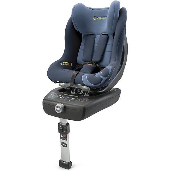 Автокресло Concord Ultimax 3, 0-18 кг, Denim BlueГруппа 0-1 (до 18 кг)<br>Характеристики автокресла:<br><br>• группа автокресла: 0/1 ;<br>• возраст ребенка: от рождения до года;<br>• вес ребенка: до 18 кг;<br>• способ установки: против хода движения автомобиля, по ходу движения автомобиля;<br>• способ крепления: база Isofix, дополнительный упор в пол с регулируемой высотой ножки;<br>• усовершенствованная версия предыдущей модели - автокресла Concord Ultimax.2;<br>• возможность регулировки автокресла по наклону в положении против хода движения;<br>• кресельная чаша эргономичной формы.<br><br>Особенности автокресла:<br><br>• высокие боковины для защиты от боковых ударов, инновационная система боковой защиты;<br>• подголовник эргономической формы регулируется в 6-ти положениях по высоте;<br>• ремни безопасности регулируются автоматически;<br>• положение для сна, переводится одной рукой;<br>• мягкий, дышащий гипоаллергенный материал;<br>• вкладыш для новорожденных идет в комплекте с автокреслом;<br>• съемный тазовый вкладыш для крупных детей (не рекомендуется снимать до достижения веса в 9 кг);<br>• съемные чехлы, можно стирать при 30С.<br><br>Размеры:<br><br>• размер автокресла 63х44х57 см;<br>• высота подголовника: 57-66 см;<br>• вес автокрела: 12,3 кг;<br>• размер упаковки: 76х46х44 см;<br>• вес в упаковке: 18 кг.<br><br>Автокресло Ultimax 3, 0-18 кг, Concord, Denim Blue можно купить в нашем интернет-магазине.<br><br>Ширина мм: 760<br>Глубина мм: 460<br>Высота мм: 440<br>Вес г: 18000<br>Цвет: синий деним<br>Возраст от месяцев: 0<br>Возраст до месяцев: 48<br>Пол: Унисекс<br>Возраст: Детский<br>SKU: 5485176