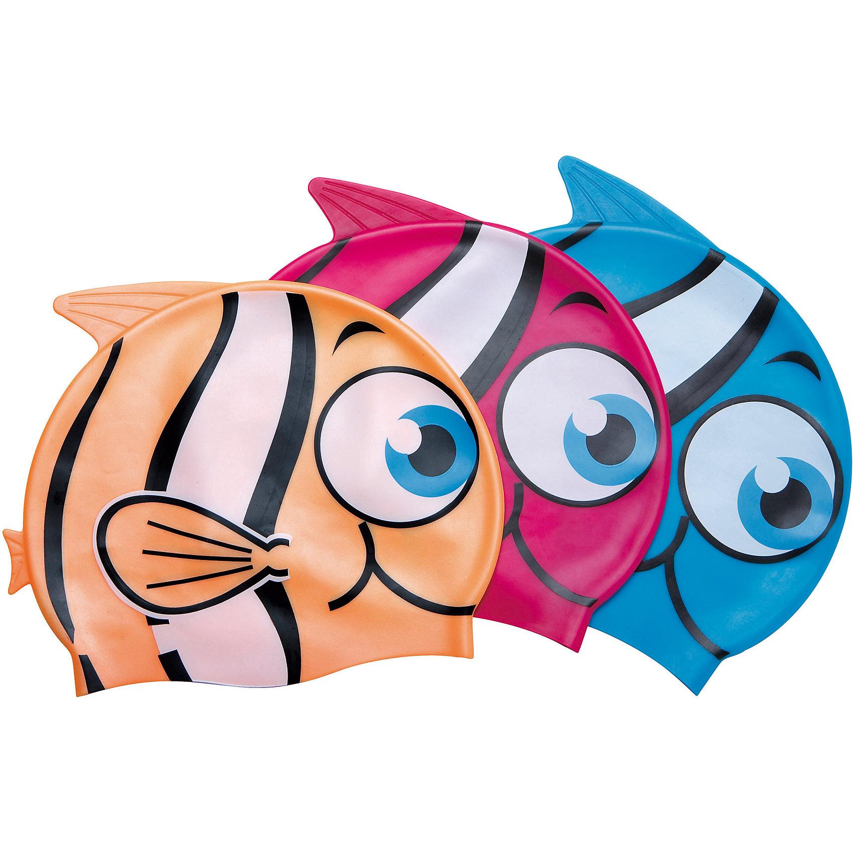Шапочка для купания Little Buddy для детей, оранжевая, BestwayОчки, маски, ласты, шапочки<br>Шапочка для купания Little Buddy для детей, оранжевая Bestway (Бествей)<br><br>Характеристики:<br><br>• растягивается до нужного размера<br>• надежно защищает волосы<br>• водонепроницаемый  материал<br>• материал: силикон<br>• цвет: оранжевый<br>• размер упаковки: 15,2х13х29,5 см<br>• вес: 61 грамм<br><br>Яркая шапочка для купания всегда будет радовать юного пловца. Шапочка изготовлена из качественного силикона, который хорошо растягивается до нужного размера и надежно облегает голову, защищая волосы от воды. Шапка выполнена в виде красивой рыбки с большими глазками. Сверху располагается плавник, придающий еще больше реалистичности. В яркой шапочке маленький спортсмен будет плавать с удовольствием!<br><br>Шапочку для купания Little Buddy для детей, оранжевую, Bestway (Бествей) вы можете купить в нашем интернет-магазине.<br><br>Ширина мм: 295<br>Глубина мм: 130<br>Высота мм: 152<br>Вес г: 61<br>Возраст от месяцев: 36<br>Возраст до месяцев: 2147483647<br>Пол: Унисекс<br>Возраст: Детский<br>SKU: 5486865
