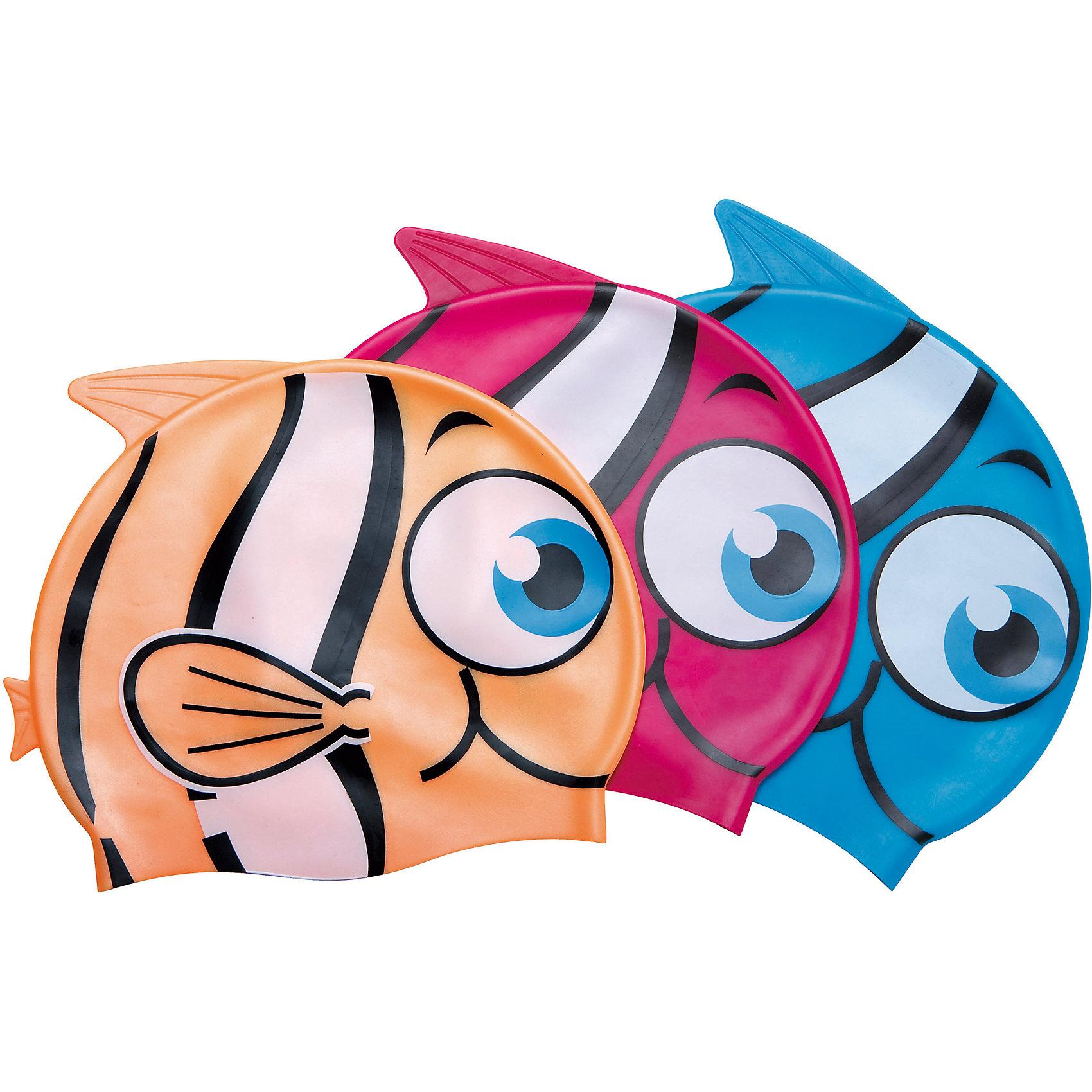 Шапочка для купания Little Buddy для детей, голубая, BestwayОчки, маски, ласты, шапочки<br>Шапочка для купания Little Buddy для детей, голубая, Bestway (Бествей)<br><br>Характеристики:<br><br>• растягивается до нужного размера<br>• надежно защищает волосы<br>• водонепроницаемый  материал<br>• материал: силикон<br>• цвет: голубой<br>• размер упаковки: 15,2х13х29,5 см<br>• вес: 61 грамм<br><br>Яркая шапочка для купания всегда будет радовать юного пловца. Шапочка изготовлена из качественного силикона, который хорошо растягивается до нужного размера и надежно облегает голову, защищая волосы от воды. Шапка выполнена в виде красивой рыбки с большими глазками. Сверху располагается плавник, придающий еще больше реалистичности. В яркой шапочке маленький спортсмен будет плавать с удовольствием!<br><br>Шапочку для купания Little Buddy для детей, голубую, Bestway (Бествей) вы можете купить в нашем интернет-магазине.<br><br>Ширина мм: 295<br>Глубина мм: 130<br>Высота мм: 152<br>Вес г: 61<br>Возраст от месяцев: 36<br>Возраст до месяцев: 2147483647<br>Пол: Мужской<br>Возраст: Детский<br>SKU: 5486867