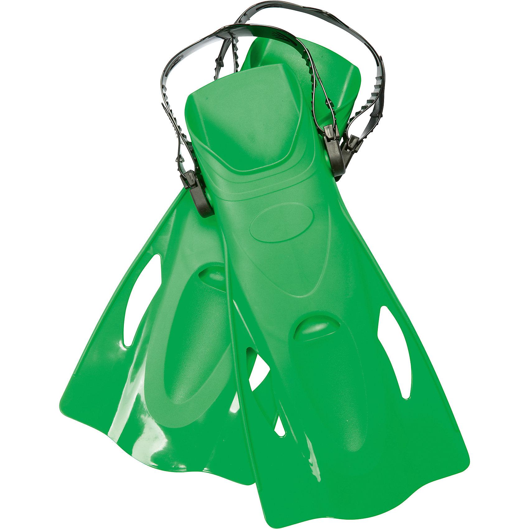 Ласты для плавания, р-р 37-41, зеленые, BestwayОчки, маски, ласты, шапочки<br>Ласты для плавания, р-р 37-41, зеленые, Bestway (Бествей)<br><br>Характеристики:<br><br>• регулируемый ремешок<br>• открытый носок<br>• гидродинамические ребра<br>• материал: пластик<br>• цвет: зеленый<br>• размер: 37-41<br>• размер упаковки: 16х33х40 см<br>• вес: 461 грамма<br><br>Ласты - незаменимый аксессуар для начинающих дайверов. Ласты изготовлены из высококачественного пластика, который прослужит вам очень долго. Ласты помогут ребенку нырять на глубину и плавать, набирая скорость. Гидродинамические ребра и отверстия уменьшат боковое давление воды. Открытый носок препятствует скапливанию воды внутри. Ремешок регулируется до необходимого размера. Пятка открыта для удобства ребенка.<br><br>Ласты для плавания, р-р 34-37, зеленые, Bestway (Бествей) можно купить в нашем интернет-магазине.<br><br>Ширина мм: 400<br>Глубина мм: 330<br>Высота мм: 160<br>Вес г: 461<br>Возраст от месяцев: 84<br>Возраст до месяцев: 2147483647<br>Пол: Унисекс<br>Возраст: Детский<br>SKU: 5486874
