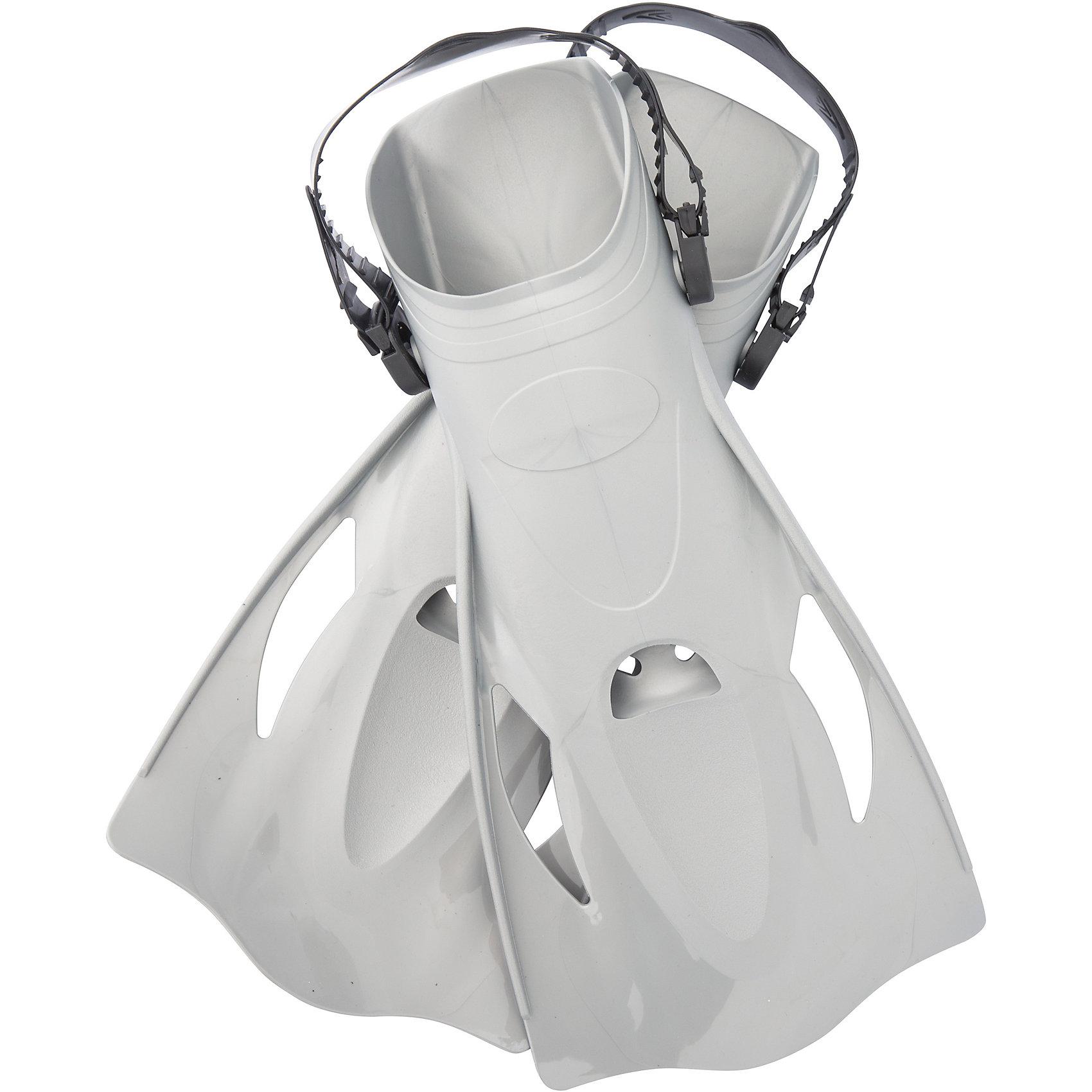 Ласты для плавания, р-р 41-46, серые, BestwayОчки, маски, ласты, шапочки<br>Ласты для плавания, р-р 41-46, серые, Bestway (Бествей)<br><br>Характеристики:<br><br>• регулируемый ремешок<br>• открытый носок<br>• гидродинамические ребра<br>• материал: пластик<br>• цвет: серый<br>• размер: 41-46<br>• размер упаковки: 20,5х45х52 см<br>• вес: 754 грамма<br><br>Ласты Bestway предназначены для плавания и ныряния детей от 14 лет. Ласты изготовлены из прочного долговечного пластика. Регулируемый ремешок и открытая пятка позволят вам придать ластам необходимый размер. Открытый носок препятствует скапливанию лишней воды внутри. Гидродинамические ребра и отверстия уменьшают боковое давление воды. <br><br>Ласты для плавания, р-р 41-46, серые, Bestway (Бествей), можно купить в нашем интернет-магазине.<br><br>Ширина мм: 520<br>Глубина мм: 450<br>Высота мм: 205<br>Вес г: 754<br>Возраст от месяцев: 168<br>Возраст до месяцев: 2147483647<br>Пол: Унисекс<br>Возраст: Детский<br>SKU: 5486877