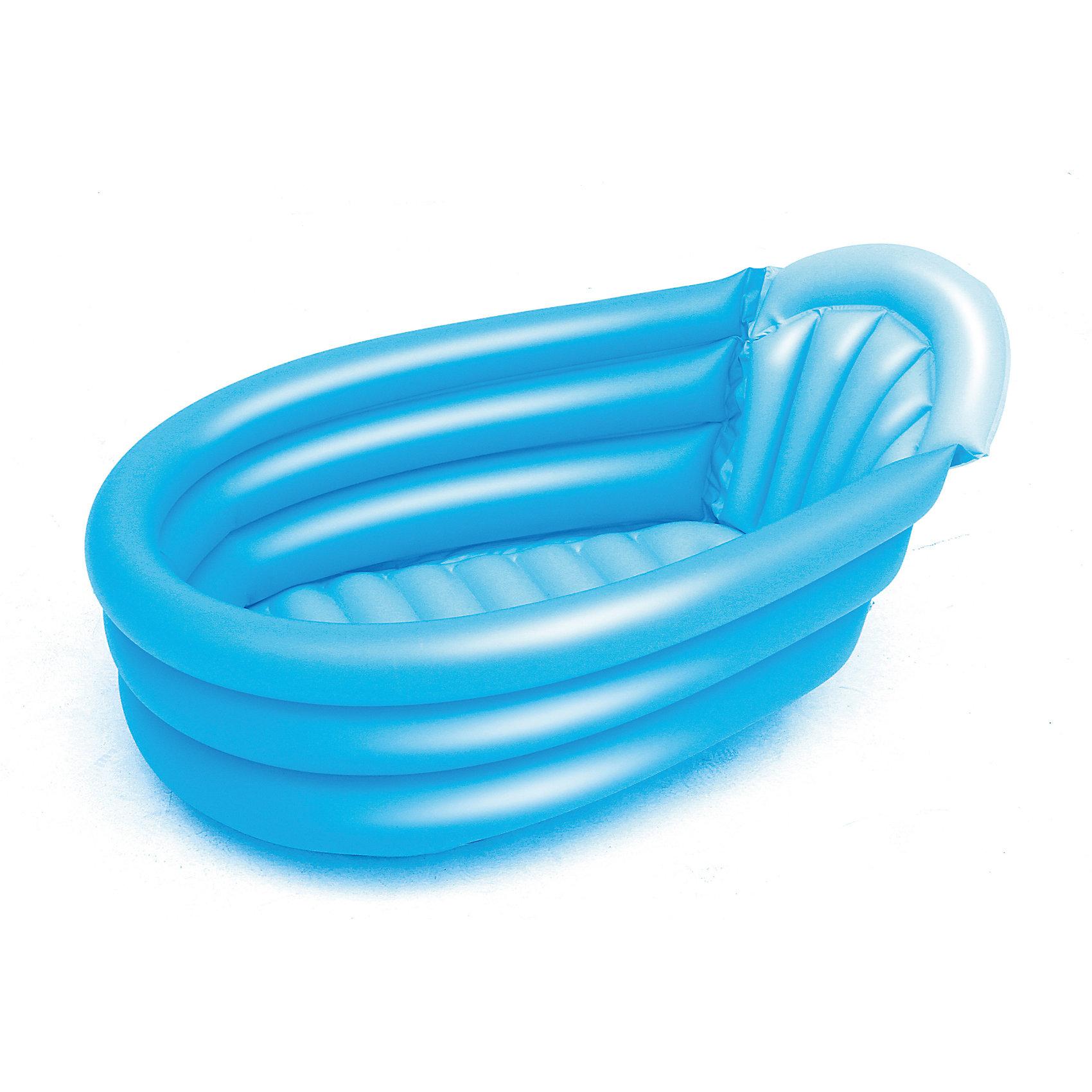 Надувной бассейн для младенцев, голубой, Bestway