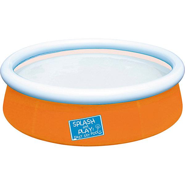 Бассейн с надувным бортом, оранжевый, BestwayБассейны<br>Бассейн с надувным бортом, оранжевый, Bestway (Бествей)<br><br>Характеристики:<br><br>• легко устанавливается<br>• прочный и устойчивый<br>• заплатка в комплекте<br>• материал: винил<br>• цвет: оранжевый<br>• объем: 477 л<br>• размер: 152х38 см<br>• размер упаковки: 35х33х7 см<br>• вес: 1,863 кг<br><br>Плескаться в бассейне невероятно весело и интересно! Бассейн с надувным бортом позволит детям придумать веселые игры в воде и укрепить мышцы. Бассейн выполнен из трехслойного винила, отличающегося высокой прочностью. Установка бассейна не займет много времени. Необходимо надуть верхнюю часть, расправить дно и залить конструкцию водой. В комплект входит ремзаплатка.<br><br>Бассейн с надувным бортом, оранжевый, Bestway (Бествей) можно купить в нашем интернет-магазине.<br><br>Ширина мм: 390<br>Глубина мм: 350<br>Высота мм: 370<br>Вес г: 1863<br>Возраст от месяцев: 24<br>Возраст до месяцев: 2147483647<br>Пол: Унисекс<br>Возраст: Детский<br>SKU: 5486916