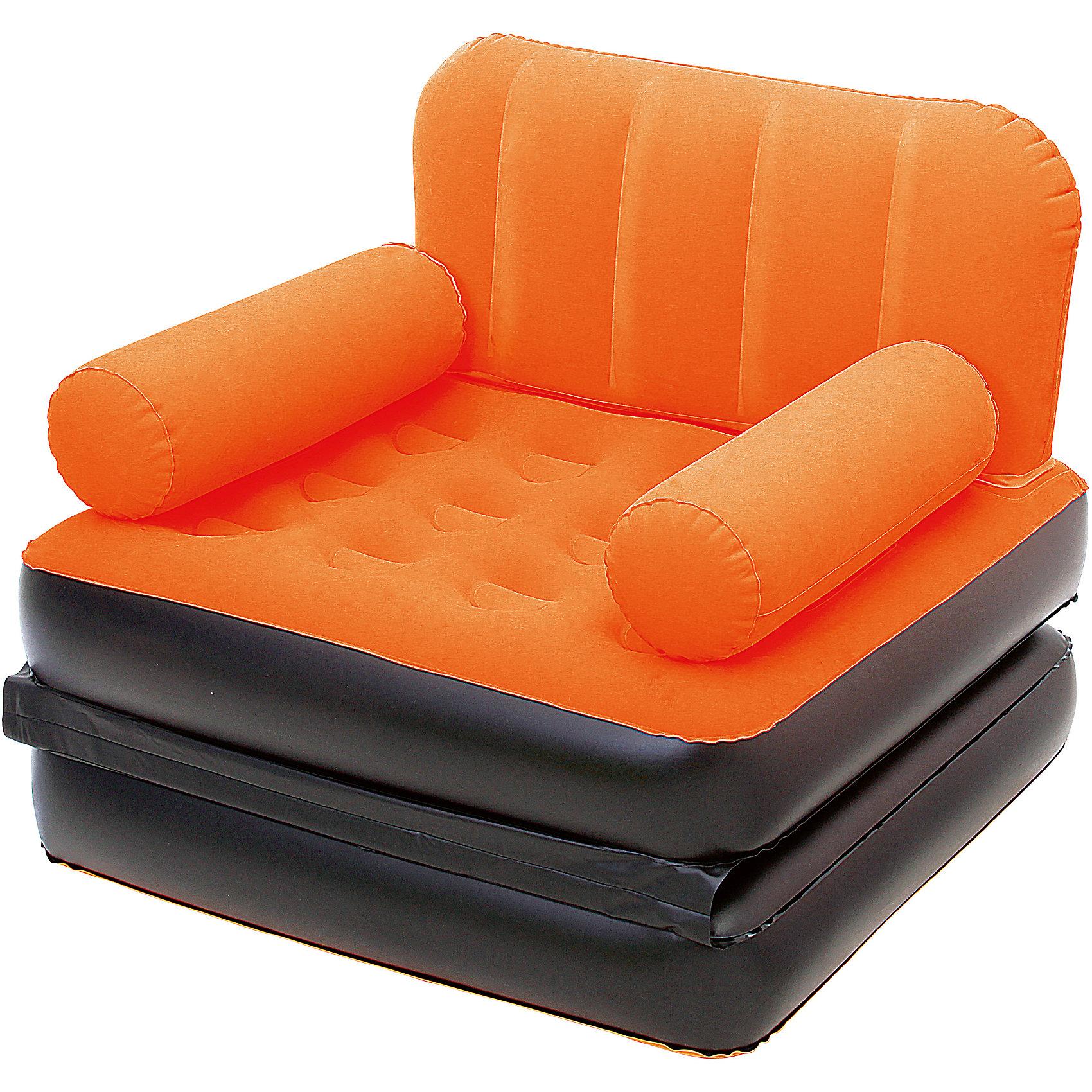 Кресло-кровать надувное, оранжевое, BestwayМебель<br>Кресло-кровать надувное, оранжевое, Bestway (Бествей)<br><br>Характеристики:<br><br>• яркое кресло легко трансформируется в кровать<br>• быстро надувается<br>• прочное<br>• материал: винил<br>• размер: 193х102х64 см<br>• цвет: оранжевый<br>• максимальная нагрузка: 223 кг<br>• вес: 3 кг<br><br>Яркое кресло Bestway легко и быстро трансформируется в односпальную кровать. Привлекательный дизайн украсит интерьер любого помещения. Вы можете использовать кресло дома или на открытом воздухе. Процесс установки занимает не более пяти минут. Кресло изготовлено из винила высокой прочности. С этим креслом вы сможете значительно сэкономить место в вашем доме.<br><br>Кресло-кровать надувное, оранжевое, Bestway (Бествей) вы можете купить в нашем интернет-магазине.<br><br>Ширина мм: 635<br>Глубина мм: 350<br>Высота мм: 370<br>Вес г: 2983<br>Возраст от месяцев: 72<br>Возраст до месяцев: 2147483647<br>Пол: Унисекс<br>Возраст: Детский<br>SKU: 5486940