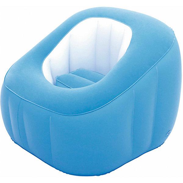 Кресло надувное, 74х74х64 см, голубое, BestwayДетские мягкие кресла<br>Кресло надувное, 74х74х64 см, голубое, Bestway (Бествей)<br><br>Характеристики:<br><br>• непромокаемый низ<br>• мягкая поверхность<br>• прочные материалы<br>• размер: 74х74х64 см<br>• заплатка в комплекте<br>• материал: ПВХ<br>• цвет: голубой<br>• размер упаковки: 29,5х30х7 см<br>• вес: 1,6 кг<br><br>Надувное кресло Bestway прекрасно впишется в интерьер комнаты и подойдет для отдыха на природе. Мягкая поверхность позволит вам расположиться с комфортом в любой обстановке. Непромокаемый низ пригодится для отдыха на свежем воздухе. Размер кресла - 74х64 сантиметра.<br><br>Кресло надувное, 74х74х64 см, голубое, Bestway (Бествей) можно купить в нашем интернет-магазине.<br><br>Ширина мм: 450<br>Глубина мм: 305<br>Высота мм: 310<br>Вес г: 1606<br>Возраст от месяцев: 72<br>Возраст до месяцев: 2147483647<br>Пол: Унисекс<br>Возраст: Детский<br>SKU: 5486956