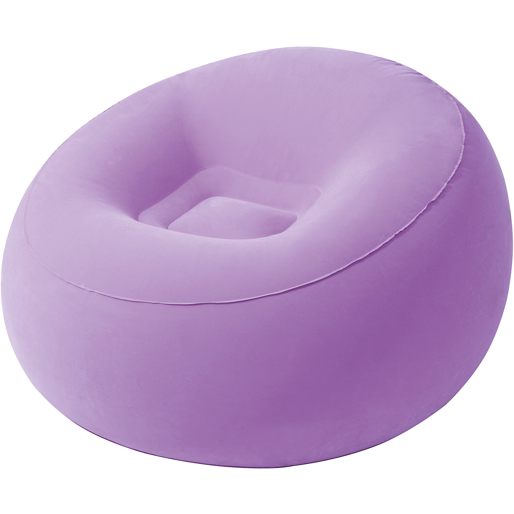 Кресло надувное, 112х112х66 см, фиолетовое, Bestway