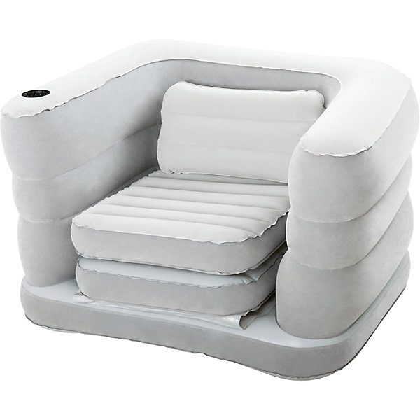 Кресло-кровать надувное, BestwayДетские мягкие кресла<br>Кресло-кровать надувное, Bestway (Бествей)<br><br>Характеристики:<br><br>• стильное кресло легко трансформируется в кровать<br>• не деформируется под весом тела<br>• компактно в сложенном виде<br>• мягкое покрытие<br>• подходит для любых насосов<br>• размер: 200х102х64 см<br>• материал: винил<br>• вес: 4,7 кг<br><br>Кресло-кровать Bestway - универсальная надувная мебель, которая поможет вам сэкономить пространство в доме при необходимости. Кресло быстро надувается любым видом насосов и быстро трансформируется в удобную кровать. Специальная технология не позволяет внутренним перегородкам деформироваться под весом тела. Это придает креслу необходимую упругость и устойчивость. Модель выполнена из высококачественного винила с флокированным покрытием. Белье не будет соскальзывать, а приятный на ощупь материал порадует вас своей мягкостью.<br><br>Кресло-кровать надувное, Bestway (Бествей) вы можете купить в нашем интернет-магазине.<br><br>Ширина мм: 410<br>Глубина мм: 360<br>Высота мм: 410<br>Вес г: 4704<br>Возраст от месяцев: 72<br>Возраст до месяцев: 2147483647<br>Пол: Унисекс<br>Возраст: Детский<br>SKU: 5486967