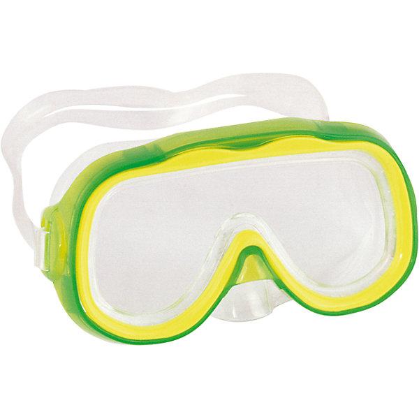Детская маска для подводного плавания Исследователь, зеленая, Bestway