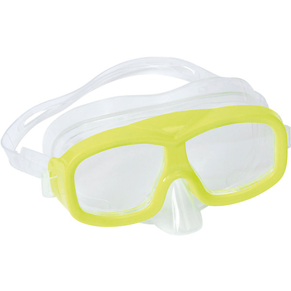 Маска для ныряния Neuwave детская, салатовая, BestwayОчки, маски, ласты, шапочки<br>Маска для ныряния Neuwave детская, салатовая, Bestway (Бествей)<br><br>Характеристики:<br><br>• надежно защищает<br>• плотно прилегает к голове<br>• не вызывает аллергии<br>• материал: пластик<br>• цвет: желтый<br>• вес: 113 грамм<br><br>Маска Neuwave надежно защитит глаза ребенка во время изучения подводного мира. Маска подходит для ныряния, игр в воде и занятий в бассейне. Она плотно прилегает к голове благодаря регулирующемуся ремешку. Изготовлена из гипоаллергенных материалов.<br><br>Маску для ныряния Neuwave детская, салатовая, Bestway (Бествей) можно купить в нашем интернет-магазине.<br>Ширина мм: 432; Глубина мм: 365; Высота мм: 245; Вес г: 113; Возраст от месяцев: 36; Возраст до месяцев: 72; Пол: Унисекс; Возраст: Детский; SKU: 5486985;