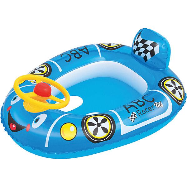 Круг для плавания с сиденьем Автомобиль, Bestway, голубойКруги и нарукавники<br>Круг для плавания с сиденьем Автомобиль, Bestway (Бествей), голубой<br><br>Характеристики:<br><br>• надежный круг в виде машинки<br>• отверстия для ног<br>• руль с передней стороны<br>• материал: ПВХ<br>• размер: 71х56 см<br>• вес: 372 грамма<br>• цвет: голубой<br><br>Надувной круг пригодится малышам, обучающимся плаванию. Круг обеспечит безопасность ребенка во время нахождения в воде. Он выполнен из прочного ПВХ. Привлекательный дизайн в виде машинки порадует детей и взрослых. Сзади расположен спойлер, а спереди- руль. Круг имеет отверстия для ног, чтобы ребенок мог чувствовать себя комфортно.<br><br>Круг для плавания с сиденьем Автомобиль, Bestway (Бествей), голубой вы можете купить в нашем интернет-магазине.<br><br>Ширина мм: 480<br>Глубина мм: 220<br>Высота мм: 415<br>Вес г: 372<br>Возраст от месяцев: 12<br>Возраст до месяцев: 24<br>Пол: Мужской<br>Возраст: Детский<br>SKU: 5487000