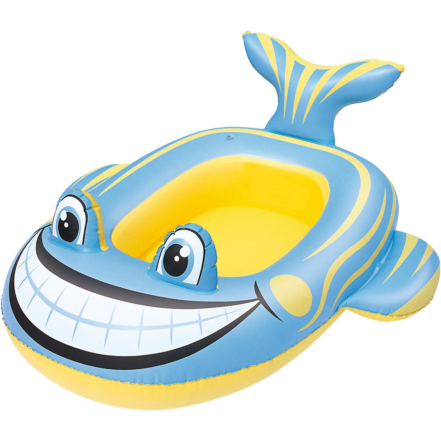 Надувная лодочка Кит, BestwayМатрасы и лодки<br>Надувная лодочка Кит, Bestway (Бествей)<br><br>Характеристики:<br><br>• интересный дизайн<br>• надувается с помощью ручного насоса<br>• материал: ПВХ<br>• размер: 99х66 см<br>• вес: 400 грамм<br><br>Красивая лодочка Кит поможет ребенку весело провести время на воде. Лодочка изготовлена из прочного поливинилхлорида и выполнена в виде яркого кита. Широкая улыбка и большие глаза зверюшки никого не оставят равнодушным!<br><br>Надувную лодочку Кит, Bestway (Бествей) можно купить в нашем интернет-магазине.<br><br>Ширина мм: 570<br>Глубина мм: 260<br>Высота мм: 270<br>Вес г: 387<br>Возраст от месяцев: 36<br>Возраст до месяцев: 72<br>Пол: Унисекс<br>Возраст: Детский<br>SKU: 5487002