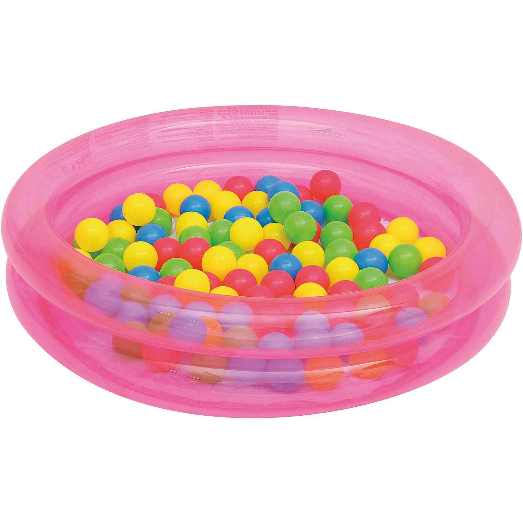 Детский надувной бассейн с 50 шариками для игры, Bestway, розовыйБассейны<br><br><br>Ширина мм: 500<br>Глубина мм: 410<br>Высота мм: 405<br>Вес г: 1177<br>Возраст от месяцев: 24<br>Возраст до месяцев: 2147483647<br>Пол: Унисекс<br>Возраст: Детский<br>SKU: 5487021