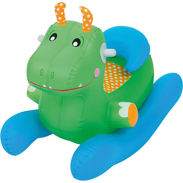 Купить Игрушка-качалка надувная, Bestway, зеленая, Китай, Унисекс