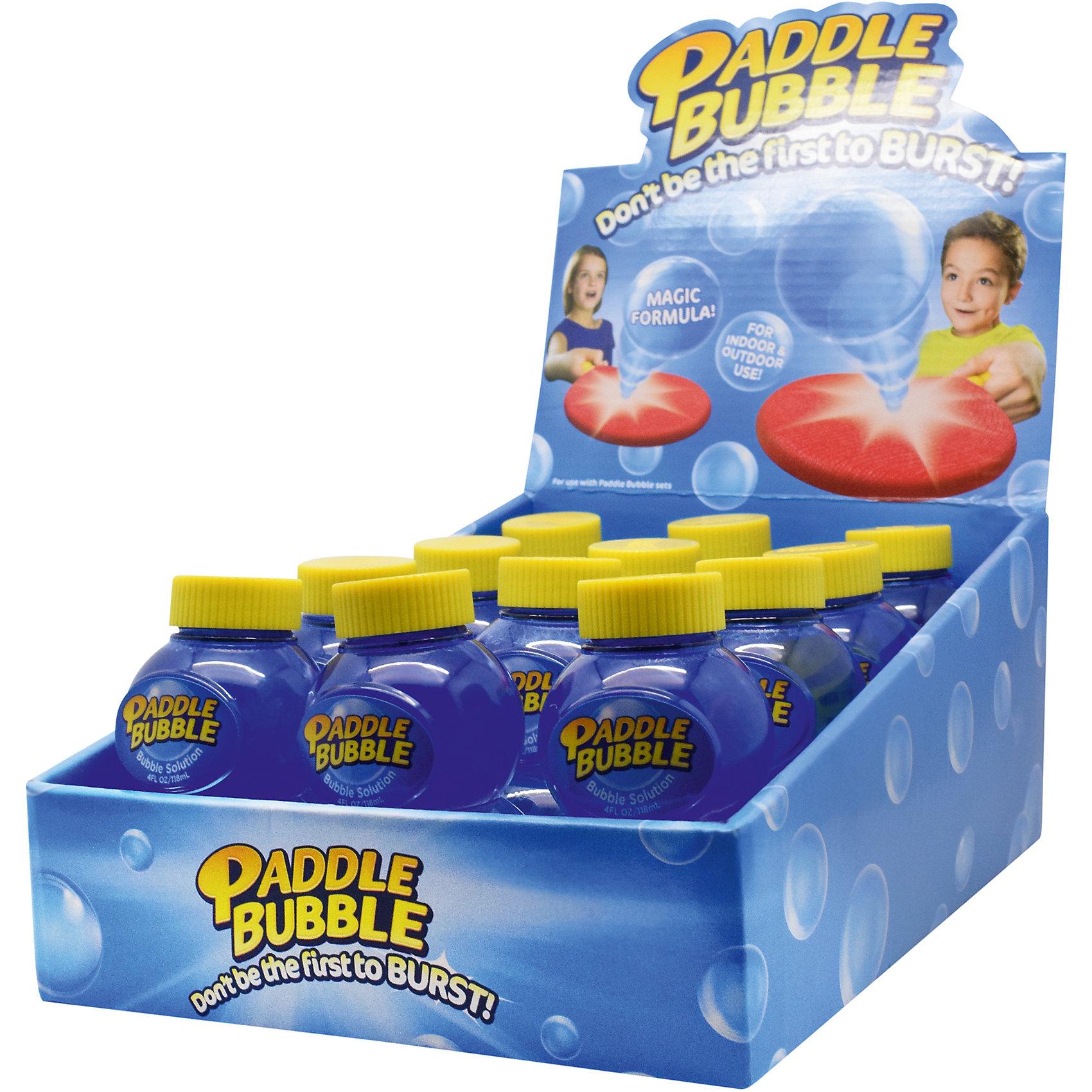 Бутылочка с мыльным раствором, 120 мл, Paddle BubbleМыльные пузыри<br>Характеристики:<br><br>• Материал: пластик, мыльный раствор<br>• Дополнительная бутылочка с мыльным раствором, 120 мл<br>• Размеры (Д*Ш*В): 5*9*5 см<br>• Вес: 156 г<br>• Упаковка: блистер на картонной подложке<br><br>Paddle Bubble Бутылочка с мыльным раствором, 120 мл – это дополнение к игровому набору, производителем которого является мировой бренд TPF Toys, выпускающий игры и игрушки с героями Disney. Мыльный раствор имеет уникальный химический состав, который обеспечивает пузырям упругость и плотность, при этом не вызывает аллергии и раздражения при попадании на кожу. <br><br>Paddle Bubble Бутылочка с мыльным раствором, 120 мл можно купить в нашем интернет-магазине.<br><br>Ширина мм: 50<br>Глубина мм: 90<br>Высота мм: 50<br>Вес г: 156<br>Возраст от месяцев: 48<br>Возраст до месяцев: 2147483647<br>Пол: Унисекс<br>Возраст: Детский<br>SKU: 5487514