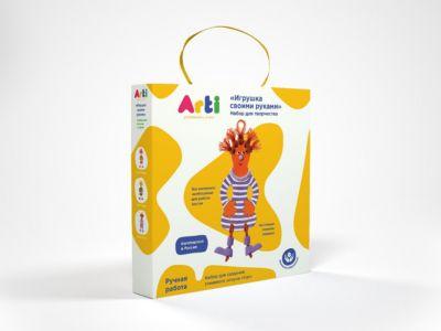 Arti Набор для творчества Глиняный клоун Кэп фото-1