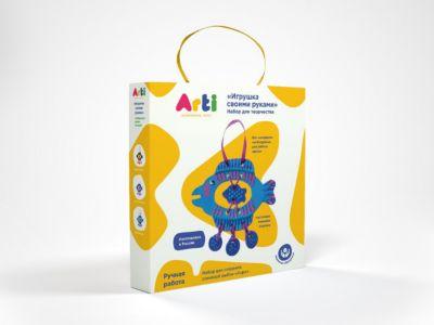 Arti Набор для творчества Глиняная рыбка Анри