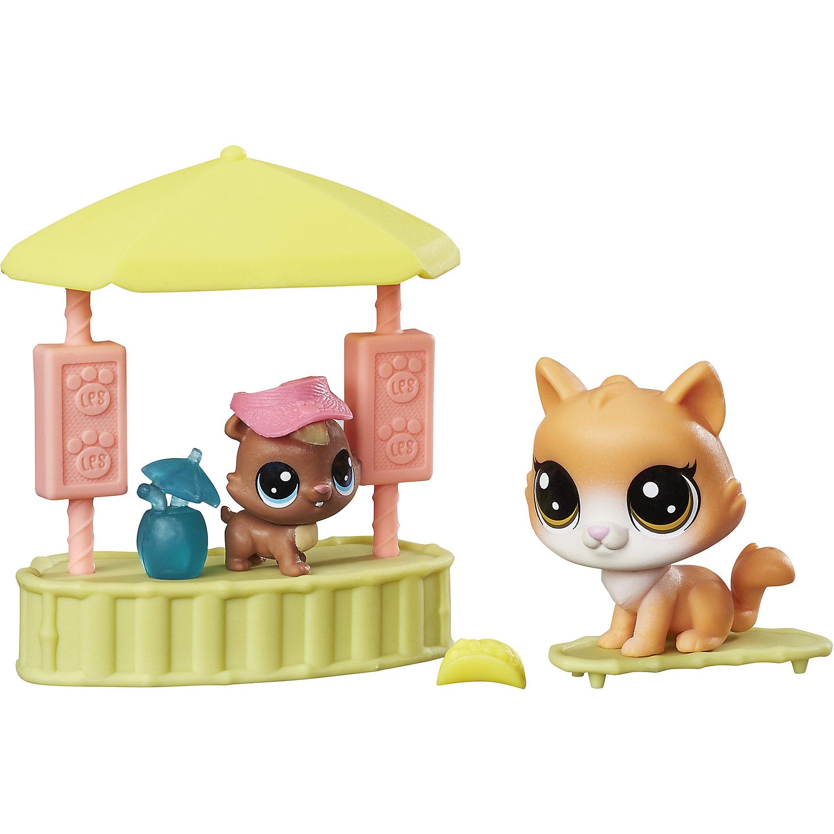 Набор Чудесные приключения, Littlest Pet Shop, B9347/С0048Популярные игрушки<br>Характеристики:<br><br>• Материал: пластик<br>• Комплектация: 2 фигурки животных, барная стойка, аксессуары<br>• Вес в упаковке: 121 г<br>• Размеры упаковки (Г*Ш*В): 4,4*19,1*19,1 см<br><br>Набор Чудесные приключения, Littlest Pet Shop, B9347/С0048 – это набор из популярнейшей серии от мирового лидера игрушек Hasbro. Комплект состоит из барной стойки, 2-х фигурок животных и аксессуаров. Все детали набора выполнены из прочного твердого пластика, устойчивого к механическим повреждениям, окрашены яркими нетоксичными красками, которые не выгорают на солнце и не меняют свой цвет даже при длительном использовании.<br><br>Набор Чудесные приключения, Littlest Pet Shop, B9347/С0048 можно купить в нашем интернет-магазине.<br><br>Ширина мм: 44<br>Глубина мм: 191<br>Высота мм: 191<br>Вес г: 121<br>Возраст от месяцев: 48<br>Возраст до месяцев: 2147483647<br>Пол: Женский<br>Возраст: Детский<br>SKU: 5488315
