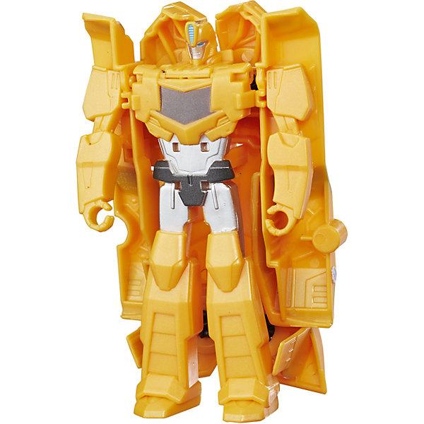 Трансформеры Роботс-ин-Дисгайс Уан-Стэп, B0068/C0646Трансформеры-игрушки<br>Характеристики:<br><br>• Материал: пластик<br>• Комплектация: робот-трансформер, аксессуары<br>• Высота робота ?11 см<br>• Трансформируется в гоночную машину за 1 шаг<br>• На игрушке имеется сканируемый жетон<br>• Вес в упаковке: 97 г<br>• Размеры упаковки (Г*Ш*В): 17,6*15,2*4,8 см<br>• Упаковка: блистер на картонной подложке<br><br>Роботы этой коллекции за один шаг трансформируются в гоночные автомобили с инерционным механизмом. Фигурки героев выполнены из твердого пластика, устойчивого к повреждениям и трещинам, детали окрашены нетоксичной краской без запаха. Робот выполнен с высокой степенью достоверности и соответствия облику своего экранного прототипа. <br><br>Трансформеры Роботс-ин-Дисгайс Уан-Стэп, B0068/C0646 можно купить в нашем интернет-магазине.<br>Ширина мм: 176; Глубина мм: 152; Высота мм: 48; Вес г: 97; Возраст от месяцев: 48; Возраст до месяцев: 2147483647; Пол: Мужской; Возраст: Детский; SKU: 5488317;