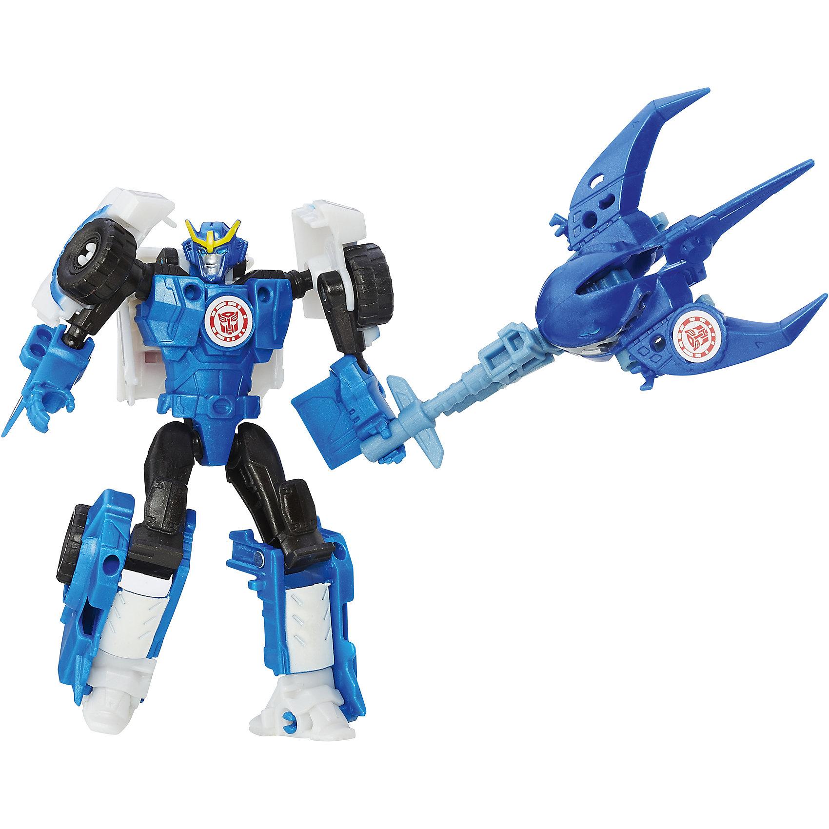Миниконы Бэтл Пэкс, Роботс-ин-Дисгайс, Трансформеры, B4713/B7676Трансформеры<br>Характеристики:<br><br>• Материал: пластик<br>• Комплектация: 2 робота-трансформера, 8 аксессуаров<br>• Высота робота ?11 см, высота мини-кона ?5 см<br>• Трансформируется в гоночную машину за 5 шагов<br>• На игрушке имеется сканируемый жетон<br>• Вес в упаковке: 162 г<br>• Размеры упаковки (Г*Ш*В): 23,2*20,3*5,5 см<br>• Упаковка: блистер на картонной подложке<br><br>Наборы этой коллекции состоят из робота-трансформера, мини-кона и коллекции аксессуаров. Робот этой коллекции за 5 шагов трансформируется в гоночную машину. Фигурки героев выполнены из твердого пластика, устойчивого к повреждениям и трещинам, детали окрашены нетоксичной краской без запаха. Робот выполнен с высокой степенью достоверности и соответствия облику своего экранного прототипа.<br><br>Миникона Бэтл Пэкс, Роботс-ин-Дисгайс, Трансформеры, B4713/B7676 можно купить в нашем интернет-магазине.<br><br>Ширина мм: 232<br>Глубина мм: 203<br>Высота мм: 55<br>Вес г: 162<br>Возраст от месяцев: 48<br>Возраст до месяцев: 96<br>Пол: Мужской<br>Возраст: Детский<br>SKU: 5489046