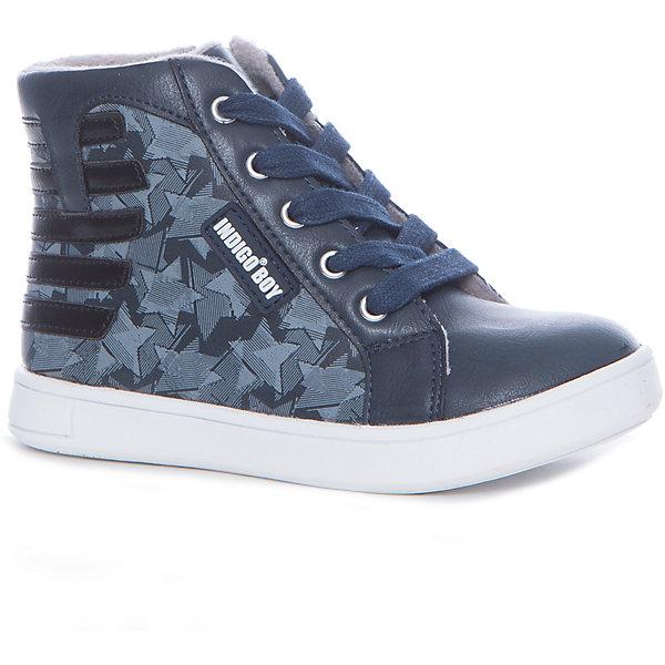 Купить Ботинки для мальчика Indigo kids, Китай, черный, 28, 26, 27, 29, 30, 31, Мужской