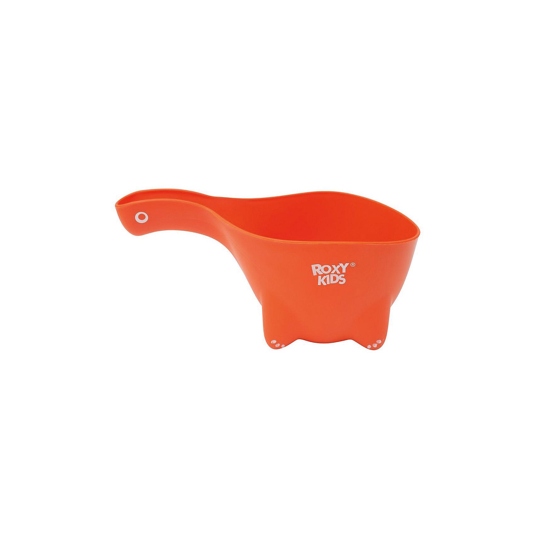 Ковшик для мытья головы DINO SCOOP, Roxy-Kids, оранжевыйПрочие аксессуары<br>Характеристики:<br><br>• Предназначение: для купания<br>• Пол: универсальный<br>• Цвет: оранжевый<br>• Материал: полипропилен<br>• Объем: 800 мл<br>• Устойчивое основание<br>• Вес: 90 г<br>• Размеры (Д*Ш*В): 22*9,5*12,5 см<br><br>Ковшик для мытья головы DINO SCOOP, Roxy-Kids, оранжевый выполнен из полипропилена, который не имеет запаха. Выполнен в форме динозаврика. Имеет устойчивое днище и прочную ручку. Не нагревается. Ковшик для мытья головы DINO SCOOP, Roxy-Kids, оранжевый – это не только незаменимый аксессуар для купания, но и яркая игрушка для малыша!<br><br>Ковшик для мытья головы DINO SCOOP, Roxy-Kids, оранжевый можно купить в нашем интернет-магазине.<br><br>Ширина мм: 220<br>Глубина мм: 125<br>Высота мм: 95<br>Вес г: 90<br>Возраст от месяцев: 0<br>Возраст до месяцев: 36<br>Пол: Унисекс<br>Возраст: Детский<br>SKU: 5489913