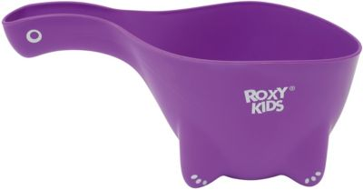 Ковшик для мытья головы DINO SCOOP, Roxy-Kids, фиолетовый