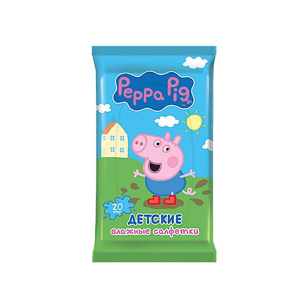Детские влажные салфетки Peppa Pig 20 шт, АвангардВлажные салфетки<br>Характеристики:<br><br>• Коллекция: Свинка Пеппа<br>• Материал: нетканый материал, лосьон<br>• Количество в упаковке: 20 штук<br>• Не содержат спирта<br>• Яркая герметичная упаковка с клапаном<br>• В состав пропитки входит отдушка Bubble Gum<br>• Вес: 100 г<br>• Размеры (Д*Ш*В): 8*15*2 см<br><br>Материал является гипоаллергенным, не раздражает нежную детскую кожу, длительное время удерживает влагу, благодаря чему салфетки сохраняют свои свойства. При использовании не изменяют pH уровень кожи. Салфетки имеют компактную упаковку с клапаном, который обеспечивает герметичность и защищает от пересыхания. Уникальный состав пропитки, в состав которой входит отдушка Bubble Gum, позволяет легко и быстро очистить и освежить кожу.<br><br>Детские влажные салфетки Peppa Pig 20 шт, Авангард можно купить в нашем интернет-магазине.<br>Ширина мм: 80; Глубина мм: 150; Высота мм: 20; Вес г: 100; Возраст от месяцев: 0; Возраст до месяцев: 84; Пол: Унисекс; Возраст: Детский; SKU: 5489920;