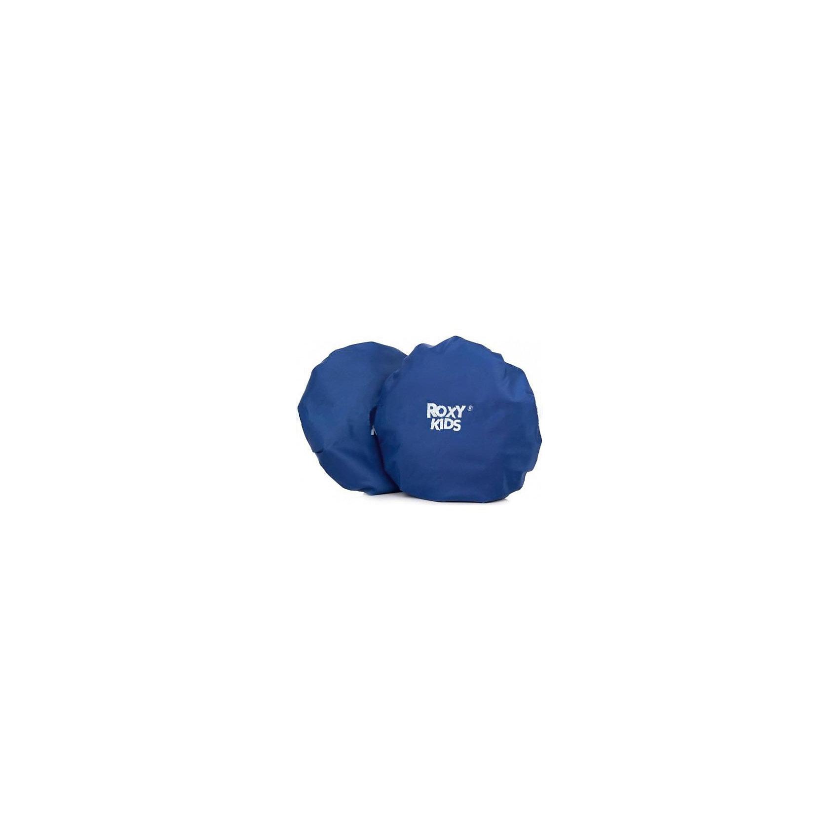 Чехлы на колеса в сумке, Roxy-KidsАксессуары для колясок<br>Характеристики:<br><br>• Предназначение: чехлы на коляску<br>• Цвет: синий<br>• Материал: полиэстер, 100%<br>• Max диаметр колеса: 30 см<br>• Min диаметр колеса: 16 см<br>• Количество в наборе: 4 чехла<br>• Вес: 200 г<br>• Размеры (Д*Ш*В): 20*5*20 см<br><br>Чехлы на колеса в сумке, Roxy-Kids выполнены из полиэстера, обладающего водо и грязеотталкивающими свойствами. Чехлы легко отстирываются от загрязнений и быстро высыхают. По краю изделий предусмотрены резинки, которые обеспечивают надежную фиксацию на колесах и универсальный размер. В комплекте предусмотрены 4 чехла и сумка для их хранения. Имеют легкий вес и компактный размер, поэтому их удобно брать с собой в поездки и на прогулку.<br><br>Чехлы на колеса в сумке, Roxy-Kids можно купить в нашем интернет-магазине.<br><br>Ширина мм: 200<br>Глубина мм: 200<br>Высота мм: 50<br>Вес г: 200<br>Возраст от месяцев: 0<br>Возраст до месяцев: 36<br>Пол: Унисекс<br>Возраст: Детский<br>SKU: 5489925