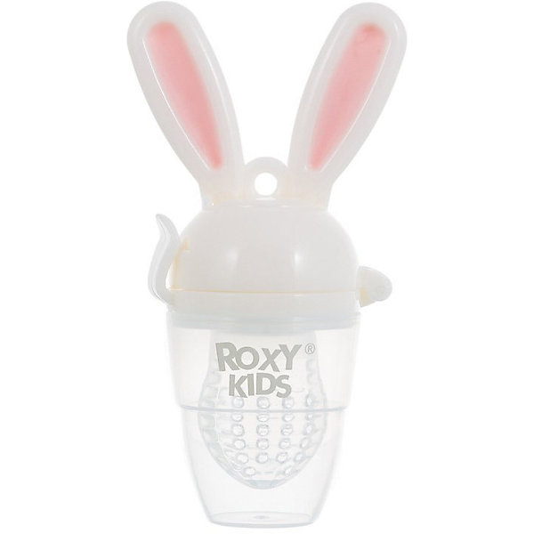 Ниблер для прикорма малышей Bunny Twist, Roxy-Kids, розовыйНиблеры<br>Характеристики:<br><br>• Предназначение: для введения прикорма<br>• Пол: для девочки<br>• Цвет: белый, розовый<br>• Материал: полипропилен, силикон<br>• Комплектация: ручка-держатель, сетка, защитный колпачок<br>• Эргономичные ручки в виде ушек зайца<br>• Съемная силиконовая сеточка<br>• Наличие поршня для проталкивания пищи<br>• Вес: 150 г<br>• Размеры (Д*Ш*В): 21*13*7 см<br>• Особенности ухода: разрешается стерилизация<br><br>Ниблер для прикорма малышей Bunny Twist, Roxy-Kids, розовый предназначен для введения первого прикорма малыша. Его конструкция продумана до мелочей: удобные эргономичные ручки в виде ушек зайца, силиконовая сеточка и колпачок, который защищает сеточку от загрязнений. В конструкции предусмотрен поршень, который позволяет проталкивать пищу. Корпус ниблера и колпачок изготовлены из безопасных материалов: полипропилена, который не имеет запаха и обладает прочностью к появлению сколов и царапин. Сеточка изготовлена из мягкого силикона, который не искажает вкус и запах пищи. Сеточка обладает повышенной прочностью и гигиеническими качествами. Она легко отмывается от остатков пищи.<br><br>Ниблер для прикорма малышей Bunny Twist, Roxy-Kids, розовый можно купить в нашем интернет-магазине.<br>Ширина мм: 210; Глубина мм: 130; Высота мм: 70; Вес г: 150; Возраст от месяцев: 4; Возраст до месяцев: 18; Пол: Женский; Возраст: Детский; SKU: 5489939;