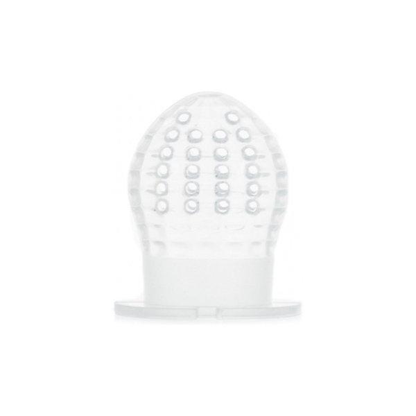 Силиконовая сеточка для ниблеров, Roxy-KidsНиблеры<br>Характеристики:<br><br>• Предназначение: для введения прикорма<br>• Материал: силикон<br>• Вес: 50 г<br>• Размеры (Д*Ш*В): 19*1*10 см<br>• Особенности ухода: можно мыть в посудомоечной машине<br><br>Силиконовая сеточка для ниблеров, Roxy-Kids предназначена для ниблеров от производителя Roxy-Kids. Изготовлена из мягкого силикона, который является особо прочным материалом, благодаря чему обеспечивается гигиенические качества и длительный срок службы. Силиконовая сеточка не искажает вкус и запах пищи. Они легко отмывается от остатков пищи.<br><br>Силиконовую сеточку для ниблеров, Roxy-Kids можно купить в нашем интернет-магазине.<br><br>Ширина мм: 190<br>Глубина мм: 100<br>Высота мм: 40<br>Вес г: 50<br>Возраст от месяцев: 4<br>Возраст до месяцев: 18<br>Пол: Унисекс<br>Возраст: Детский<br>SKU: 5489940