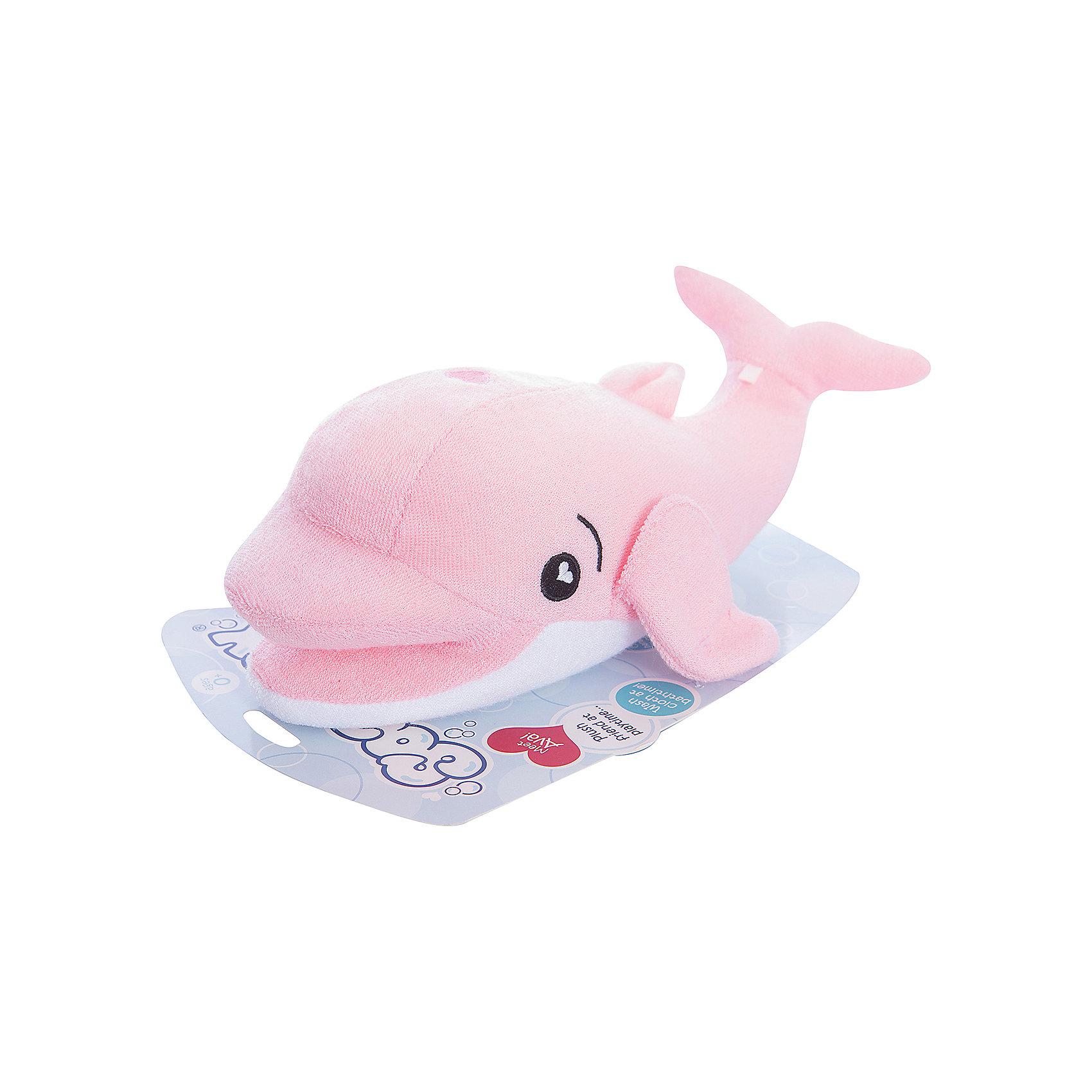 Губка для тела Дельфин Ава, SoapSoxПолотенца, мочалки, халаты<br>Губка для тела Дельфин Ава, SoapSox (Соап Сокс) <br><br>Характеристики:<br><br>• выполнена в виде забавного дельфина<br>• хорошо вспенивает мыло<br>• два кармашка для пальцев<br>• удобно сушить<br>• материал: антимикробный полиэстер, губка<br>• размер: 23х7,5х13 см<br>• размер упаковки: 22х8х28 см<br>• вес: 100 грамм<br><br>Губка SoapSox - настоящая палочка-выручалочка для родителей. Вы сможете использовать ее как губку или в качестве мягкой игрушки во время купания. С такой губкой даже привереда с радостью побежит купаться. Специальная технология позволяет создать большое количество пены, которая так нравится малышам. Для этого нужно заполнить внутренний карман жидким или твердым мылом и опустить губку в воду. После использования губку можно подвесить на небольшой шнурок.<br><br>Губка для тела Дельфин Ава, SoapSox (Соап Сокс)  можно купить в нашем интернет-магазине.<br><br>Ширина мм: 28<br>Глубина мм: 22<br>Высота мм: 8<br>Вес г: 0<br>Возраст от месяцев: 12<br>Возраст до месяцев: 72<br>Пол: Унисекс<br>Возраст: Детский<br>SKU: 5489964