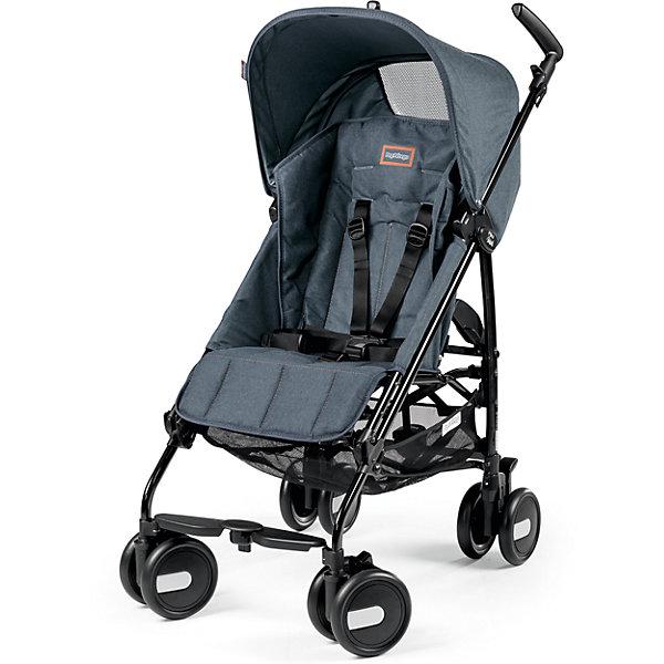 Коляска-трость Peg-Perego Pliko Mini с бампером, Blue DenimКоляски-трости<br>Характеристики товара:<br><br>• удобна для транспортировки и хранения;<br>• объемный капюшон от солнца и дождя;<br>• спинка сиденья регулируется 3 положениях;<br>• регулируемая подножка; <br>• корзина для вещей ребенка;<br>• передние поворотные колеса с возможностью фиксации;<br>• узкая колесная база;<br>• легко и компактно складывается тростью.<br>• Материал: текстиль, металл, пластик.<br>• Диаметр колес: 14,6 см.<br>• Максимальная длина спального места: 87 см.<br>• Размер в разложенном виде: 84 х 50 х 101 см.<br>• Размер в сложенном виде: 34 х 32 х 94 см.<br>• Вес: 5,7 кг.<br><br>Коляска-трость Pliko Mini c бампером, Peg-Perego - компактная прогулочная коляска с небольшими габаритами, которая отвечает всем требованиям комфорта и безопасности малыша. <br><br>Очень практична для использования в любой ситуации. Коляска оснащена удобным для ребенка сиденьем с мягкими 5- точечными ремнями безопасности и мягким съемным бампером(отдельно бампер без коляски не продается!). Спинка легко раскладывается в 3 положениях вплоть до горизонтального. Опора для ножек регулируется, что обеспечивает<br>малышу правильную осанку. Большой капюшон со смотровым окном защитит от солнца и дождя.  <br><br>Для родителей предусмотрены удобные ручки и вместительная корзина для принадлежностей малыша. Коляска оснащена 4 двойными колесами (передние - поворотные с возможностью фиксации, задние - с тормозом). Благодаря узкой колесной базе коляска без труда преодолевает<br>даже самые узкие проемы дверей, лифтов и турникетов. Легко и компактно складывается тростью, что позволяет использовать ее во время поездок и путешествий. Обивку можно снимать и стирать. Подходит для детей от 6 мес. до 3 лет.<br><br>Коляску-трость Pliko Mini + бампер передний, Peg-Perego можно купить в нашем интернет-магазине.<br><br>Ширина мм: 470<br>Глубина мм: 290<br>Высота мм: 1025<br>Вес г: 8000<br>Возраст от месяцев: 6<br>Возраст до месяцев: 36<br>П