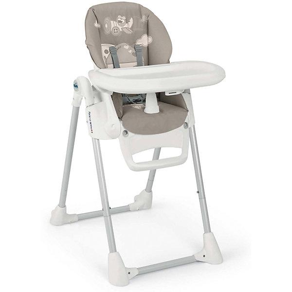 Стульчик для кормления Pappananna, CAM, темно-серый с домикомСтульчики для кормления<br>Характеристики:<br><br>• изменяется высота сиденья, 8 положений;<br>• угол наклона спинки регулируется, 4 положения, включая положение «лежа»;<br>• регулируемая подножка;<br>• система 5-ти точечных ремней безопасности надежно удерживает ребенка;<br>• пластиковый ограничитель между ножек не позволяет ребенку «съехать» или соскользнуть вниз;<br>• стульчик оснащен съемным столиком для кормления;<br>• имеется также дополнительный поднос с углублениями для посуды;<br>• поднос можно снять и оставить только столик с ровной поверхностью;<br>• на нижнем основании стульчика находятся пластиковые накладки, которые обеспечивают устойчивость конструкции;<br>• задние ножки оснащены колесиками;<br>• стульчик компактно складывается, устойчиво стоит в вертикальном положении;<br>• материал: алюминий, пластик, полиэстер, эко-кожа.<br><br>Размеры:<br><br>• размер стульчика для кормления: 55х76х106 см;<br>• размер стульчика в сложенном виде: 55х31х89 см;<br>• вес стульчика: 8,9 кг;<br>• размер упаковки: 62,7х30,7х98 см;<br>• вес в упаковке: 12,2 кг.<br><br>Функциональный стульчик-трансформер Pappananna используется с первых дней жизни малыша благодаря раскладывающейся почти до горизонтального положения спинке. В таком положении ребенок может находиться рядом с взрослыми в часы приема ими пищи. Стульчик регулируется по высоте, которая может быть изменена в зависимости от роста ребенка. Стульчик без столика удобно приставить к общему столу, когда ребенок подрастет. <br><br>Стульчик для кормления Pappananna, CAM, темно-серый с домиком можно купить в нашем интернет-магазине.<br>Ширина мм: 627; Глубина мм: 307; Высота мм: 980; Вес г: 12200; Возраст от месяцев: 0; Возраст до месяцев: 36; Пол: Унисекс; Возраст: Детский; SKU: 5489974;