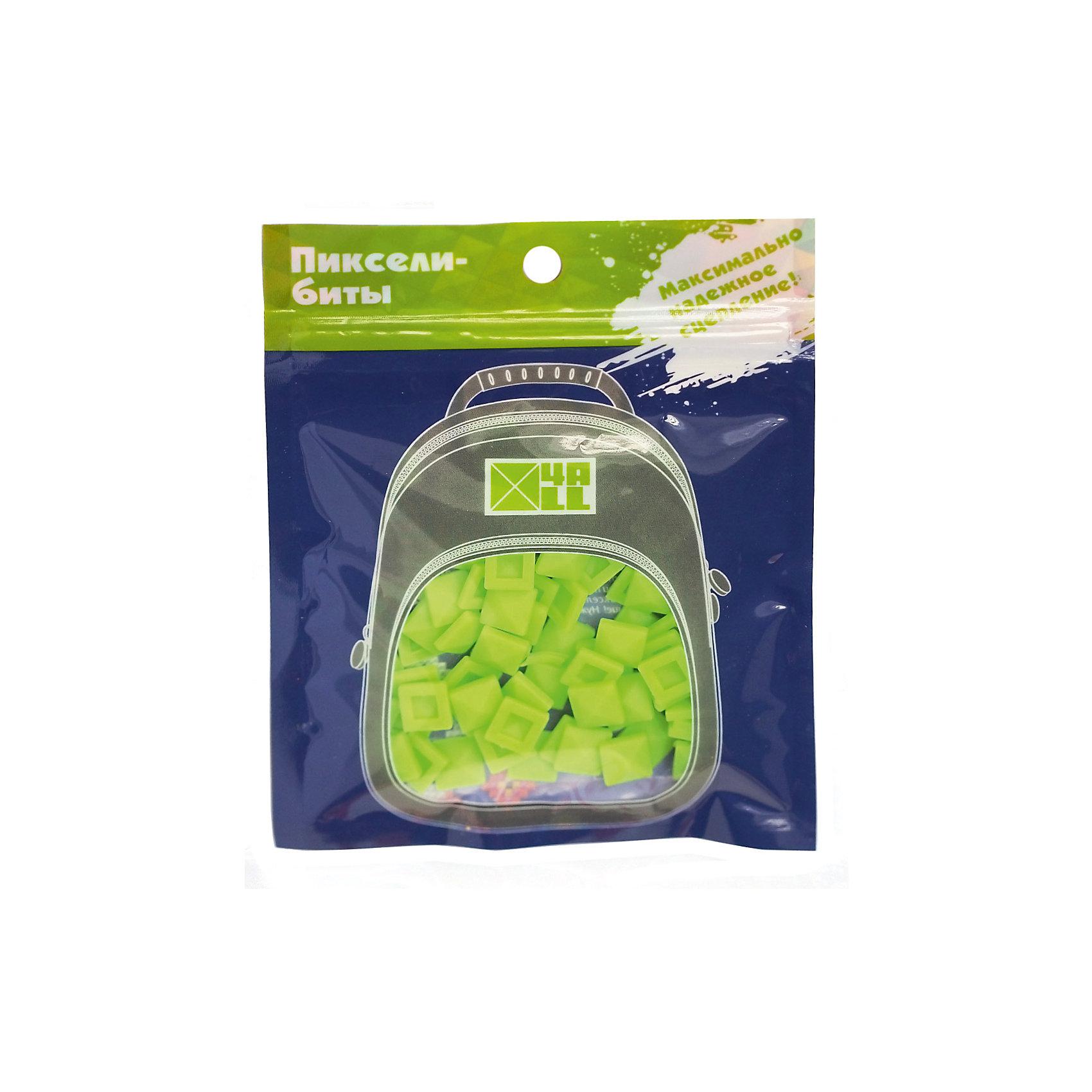 Набор для рюкзака 4ALL пиксель-Бит, салатовый, 80 штРюкзаки<br>Набор для творчества пиксель-Бит, салатовый, 80 шт.<br><br>Характеристики:<br><br>• Для детей от 3 лет<br>• Количество: 80 шт.<br>• Размер: 0,5х0,5 см.<br>• Цвет: салатовый<br>• Материал: высококачественный силикон<br>• Размер упаковки: 14х11 см.<br><br>Придумай и создай дизайн своего рюкзака Case самостоятельно с наборами для творчества пиксель-Бит. Биты для пикселей легко и прочно крепятся на переднюю панель рюкзака благодаря уникальной конструкции замка. Битами можно выкладывать любые картинки или слова. Набор подходит для декорирования рюкзаков серии 4all Case. Изготовлен из высококачественного гипоаллергенного силикона. Развивает мелкую моторику рук, творческий потенциал и воображение.<br><br>Набор для творчества пиксель-Бит, салатовые, 80 шт можно купить в нашем интернет-магазине.<br><br>Ширина мм: 140<br>Глубина мм: 110<br>Высота мм: 50<br>Вес г: 25<br>Возраст от месяцев: 36<br>Возраст до месяцев: 2147483647<br>Пол: Унисекс<br>Возраст: Детский<br>SKU: 5490445