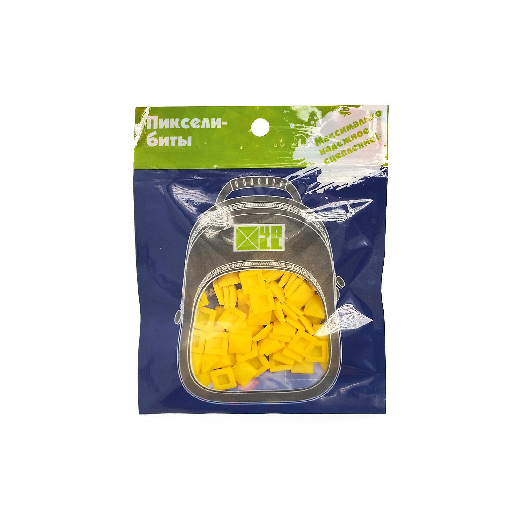 Набор для рюкзака 4ALL пиксель-Бит, ярко-желтый, 80 штНабор для творчества пиксель-Бит, ярко-желтый, 80 шт.<br><br>Характеристики:<br><br>• Для детей от 3 лет<br>• Количество: 80 шт.<br>• Размер: 0,5х0,5 см.<br>• Цвет: ярко-желтый<br>• Материал: высококачественный силикон<br>• Размер упаковки: 14х11 см.<br><br>Придумай и создай дизайн своего рюкзака Case самостоятельно с наборами для творчества пиксель-Бит. Биты для пикселей легко и прочно крепятся на переднюю панель рюкзака благодаря уникальной конструкции замка. Битами можно выкладывать любые картинки или слова. Набор подходит для декорирования рюкзаков серии 4all Case. Изготовлен из высококачественного гипоаллергенного силикона. Развивает мелкую моторику рук, творческий потенциал и воображение.<br><br>Набор для творчества пиксель-Бит, ярко-желтые, 80 шт можно купить в нашем интернет-магазине.<br><br>Ширина мм: 140<br>Глубина мм: 110<br>Высота мм: 50<br>Вес г: 25<br>Возраст от месяцев: 36<br>Возраст до месяцев: 2147483647<br>Пол: Унисекс<br>Возраст: Детский<br>SKU: 5490450