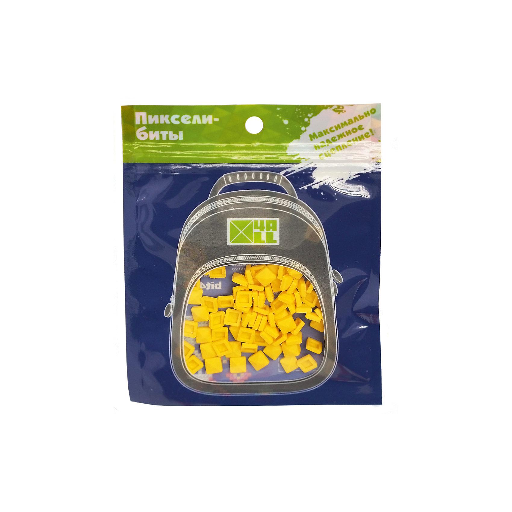 Набор для рюкзака 4ALL пиксель-Бит, желтый, 80 штРюкзаки<br>Набор для творчества пиксель-Бит, желтый, 80 шт.<br><br>Характеристики:<br><br>• Для детей от 3 лет<br>• Количество: 80 шт.<br>• Размер: 0,4х0,4 см.<br>• Цвет: желтый<br>• Материал: высококачественный силикон<br>• Размер упаковки: 14х11 см.<br><br>Придумай и создай дизайн своего рюкзака Kids самостоятельно с наборами для творчества пиксель-Бит. Биты для пикселей легко и прочно крепятся на переднюю панель рюкзака благодаря уникальной конструкции замка. Битами можно выкладывать любые картинки или слова. Набор подходит для декорирования рюкзаков серии 4all Kids. Изготовлен из высококачественного гипоаллергенного силикона. Развивает мелкую моторику рук, творческий потенциал и воображение.<br><br>Набор для творчества пиксель-Бит, желтые, 80 шт можно купить в нашем интернет-магазине.<br><br>Ширина мм: 140<br>Глубина мм: 110<br>Высота мм: 50<br>Вес г: 25<br>Возраст от месяцев: 36<br>Возраст до месяцев: 2147483647<br>Пол: Унисекс<br>Возраст: Детский<br>SKU: 5490463
