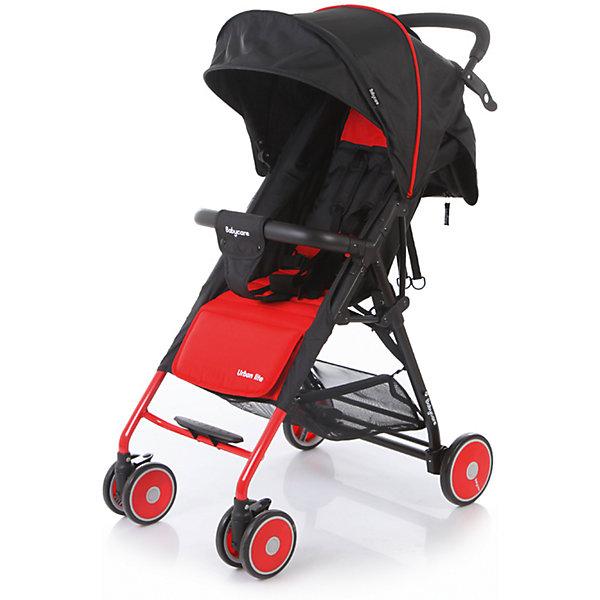 Прогулочная коляска Baby Care Urban Lite, красныйПрогулочные коляски<br>Характеристики коляски Baby Care Urban Lite:<br><br>• плавно регулируемый наклон спинки при помощи ременного механизма;<br>• складной капюшон с солнцезащитным козырьком;<br>• смотровое окошко для наблюдения за ребенком;<br>• задняя часть капюшона открывается для вентиляции воздуха;<br>• съемный бампер с дополнительным разделителем между ножек;<br>• регулируемая при помощи ремня подножка;<br>• ручка родителей с мягкой нескользящей накладкой;<br>• 5-ти точечные ремни безопасности с мягкими накладками;<br>• ширина сидения 33,5 см;<br>• материал: полиэстер.<br><br>Прогулочная коляска Baby Care Urban Lite — легкая маневренная коляска для прогулок по городу, поездок на природу и путешествия. Просторное сидение, откидывающая спинка и регулируемая подножка обеспечивают малышу максимально комфортную прогулку. Коляска компактно складывается, не занимает много места, ее можно перевозить в багажнике автомобиля. <br><br>Шасси коляски:<br><br>• легкая алюминиевая рама;<br>• передние поворотные колеса сдвоенные, с возможностью фиксации;<br>• задние колеса одинарные;<br>• диаметр передних колес 13 см, задних — 15,3 см;<br>• ширина колесной базы 51 см;<br>• амортизаторы на передних колесах для смягчения хода;<br>• ножной тормоз;<br>• тип складывания «книжка»;<br>• устойчива в сложенном виде;<br>• корзина для покупок размером 40х34х14 см.<br><br>Размер коляски в разложенном виде 87х51х103 см<br>Размер коляски в сложенном виде 67х51х25 см<br>Вес коляски 5,4 кг<br>Размер упаковки 66х46х18 см<br>Вес в упаковке 6,2 кг<br><br>Комплектация:<br><br>• прогулочный блок<br>• корзина для покупок;<br>• чехол на ножки;<br>• инструкция.<br><br>Прогулочную коляску Baby Care Urban Lite красную можно приобрести в нашем интернет-магазине.<br>Ширина мм: 660; Глубина мм: 460; Высота мм: 180; Вес г: 6200; Возраст от месяцев: 6; Возраст до месяцев: 36; Пол: Унисекс; Возраст: Детский; SKU: 5493334;
