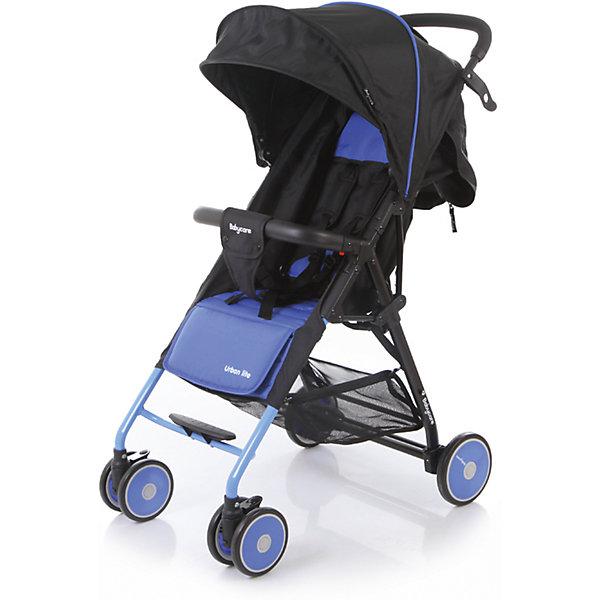 Прогулочная коляска Baby Care Urban Lite, синийПрогулочные коляски<br>Характеристики коляски Baby Care Urban Lite:<br><br>• плавно регулируемый наклон спинки при помощи ременного механизма;<br>• складной капюшон с солнцезащитным козырьком;<br>• смотровое окошко для наблюдения за ребенком;<br>• задняя часть капюшона открывается для вентиляции воздуха;<br>• съемный бампер с дополнительным разделителем между ножек;<br>• регулируемая при помощи ремня подножка;<br>• ручка родителей с мягкой нескользящей накладкой;<br>• 5-ти точечные ремни безопасности с мягкими накладками;<br>• ширина сидения 33,5 см;<br>• материал: полиэстер.<br><br>Прогулочная коляска Baby Care Urban Lite — легкая маневренная коляска для прогулок по городу, поездок на природу и путешествия. Просторное сидение, откидывающая спинка и регулируемая подножка обеспечивают малышу максимально комфортную прогулку. Коляска компактно складывается, не занимает много места, ее можно перевозить в багажнике автомобиля. <br><br>Шасси коляски:<br><br>• легкая алюминиевая рама;<br>• передние поворотные колеса сдвоенные, с возможностью фиксации;<br>• задние колеса одинарные;<br>• диаметр передних колес 13 см, задних — 15,3 см;<br>• ширина колесной базы 51 см;<br>• амортизаторы на передних колесах для смягчения хода;<br>• ножной тормоз;<br>• тип складывания «книжка»;<br>• устойчива в сложенном виде;<br>• корзина для покупок размером 40х34х14 см.<br><br>Размер коляски в разложенном виде 87х51х103 см<br>Размер коляски в сложенном виде 67х51х25 см<br>Вес коляски 5,4 кг<br>Размер упаковки 66х46х18 см<br>Вес в упаковке 6,2 кг<br><br>Комплектация:<br><br>• прогулочный блок<br>• корзина для покупок;<br>• чехол на ножки;<br>• инструкция.<br><br>Прогулочную коляску Baby Care Urban Lite синюю можно приобрести в нашем интернет-магазине.<br><br>Ширина мм: 660<br>Глубина мм: 460<br>Высота мм: 180<br>Вес г: 6200<br>Возраст от месяцев: 6<br>Возраст до месяцев: 36<br>Пол: Унисекс<br>Возраст: Детский<br>SKU: 5493335