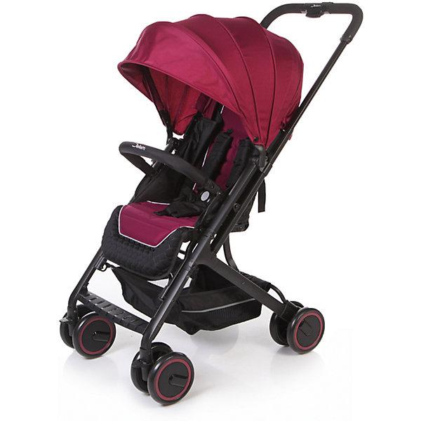 Прогулочная коляска Jetem Micro, тёмно-фиолетовыйПрогулочные коляски<br>Характеристики коляски Jetem Micro:<br><br>• плавно регулируемая спинка при помощи ременного механизма;<br>• съемный бампер, обтянутый мягкой тканью;<br>• регулируемая подножка;<br>• 5-ти точечные ремни безопасности с мягкими накладками;<br>• материал: полиэстер.<br><br>Прогулочная коляска Jetem Micro — легкая и маневренная коляска, которая подойдет для городских и загородных прогулок и путешествий. Телескопическая ручка позволяет быстро сложить коляску одной рукой. Спинка плавно опускается сразу в нескольких положениях, что дает возможность малышу отдохнуть и поспать на прогулке. <br><br>Шасси коляски:<br><br>• легкая алюминиевая рама;<br>• все колеса коляски сдвоенные;<br>• передние колеса поворотные с возможностью блокировки;<br>• диаметр колес 15,3 см;<br>• ширина колесной базы 51 см;<br>• амортизаторы на всех колесах для смягчения неровностей на дороге;<br>• тип складывания «книжка»;<br>• телескопическая ручка;<br>• ножной тормоз;<br>• корзина для покупок размером  33х32х13,5 см<br>• компактное сложение одной рукой;<br>• устойчива в сложенном виде.<br><br>Размер коляски в разложенном виде 68х51х94 см<br>Размер коляски в сложенном виде 70х51х29 см<br>Вес коляски 6,1 кг<br>Размер упаковки 53х52х26 см<br>Вес упаковки 7,8 кг<br><br>Комплектация:<br><br>• прогулочный блок;<br>• корзина для покупок;<br>• накидка на ножки;<br>• инструкция.<br><br>Прогулочную коляску Jetem Micro фиолетовую можно приобрести в нашем интернет-магазине.<br>Ширина мм: 530; Глубина мм: 520; Высота мм: 260; Вес г: 7800; Возраст от месяцев: 6; Возраст до месяцев: 36; Пол: Унисекс; Возраст: Детский; SKU: 5493339;