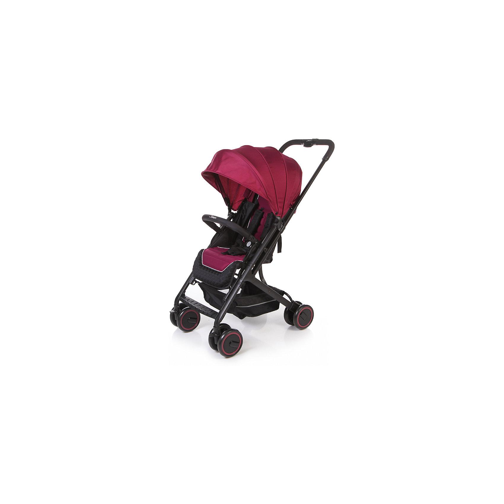 Прогулочная коляска Jetem Micro, тёмно-фиолетовыйПрогулочные коляски<br>Характеристики коляски Jetem Micro:<br><br>• плавно регулируемая спинка при помощи ременного механизма;<br>• съемный бампер, обтянутый мягкой тканью;<br>• регулируемая подножка;<br>• 5-ти точечные ремни безопасности с мягкими накладками;<br>• материал: полиэстер.<br><br>Прогулочная коляска Jetem Micro — легкая и маневренная коляска, которая подойдет для городских и загородных прогулок и путешествий. Телескопическая ручка позволяет быстро сложить коляску одной рукой. Спинка плавно опускается сразу в нескольких положениях, что дает возможность малышу отдохнуть и поспать на прогулке. <br><br>Шасси коляски:<br><br>• легкая алюминиевая рама;<br>• все колеса коляски сдвоенные;<br>• передние колеса поворотные с возможностью блокировки;<br>• диаметр колес 15,3 см;<br>• ширина колесной базы 51 см;<br>• амортизаторы на всех колесах для смягчения неровностей на дороге;<br>• тип складывания «книжка»;<br>• телескопическая ручка;<br>• ножной тормоз;<br>• корзина для покупок размером  33х32х13,5 см<br>• компактное сложение одной рукой;<br>• устойчива в сложенном виде.<br><br>Размер коляски в разложенном виде 68х51х94 см<br>Размер коляски в сложенном виде 70х51х29 см<br>Вес коляски 6,1 кг<br>Размер упаковки 53х52х26 см<br>Вес упаковки 7,8 кг<br><br>Комплектация:<br><br>• прогулочный блок;<br>• корзина для покупок;<br>• накидка на ножки;<br>• инструкция.<br><br>Прогулочную коляску Jetem Micro фиолетовую можно приобрести в нашем интернет-магазине.<br><br>Ширина мм: 530<br>Глубина мм: 520<br>Высота мм: 260<br>Вес г: 7800<br>Возраст от месяцев: 6<br>Возраст до месяцев: 36<br>Пол: Унисекс<br>Возраст: Детский<br>SKU: 5493339