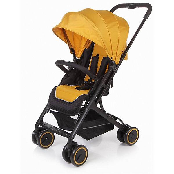 Прогулочная коляска Jetem Micro, тёмно-жёлтыйПрогулочные коляски<br>Характеристики коляски Jetem Micro:<br><br>• плавно регулируемая спинка при помощи ременного механизма;<br>• съемный бампер, обтянутый мягкой тканью;<br>• регулируемая подножка;<br>• 5-ти точечные ремни безопасности с мягкими накладками;<br>• материал: полиэстер.<br><br>Прогулочная коляска Jetem Micro — легкая и маневренная коляска, которая подойдет для городских и загородных прогулок и путешествий. Телескопическая ручка позволяет быстро сложить коляску одной рукой. Спинка плавно опускается сразу в нескольких положениях, что дает возможность малышу отдохнуть и поспать на прогулке. <br><br>Шасси коляски:<br><br>• легкая алюминиевая рама;<br>• все колеса коляски сдвоенные;<br>• передние колеса поворотные с возможностью блокировки;<br>• диаметр колес 15,3 см;<br>• ширина колесной базы 51 см;<br>• амортизаторы на всех колесах для смягчения неровностей на дороге;<br>• тип складывания «книжка»;<br>• телескопическая ручка;<br>• ножной тормоз;<br>• корзина для покупок размером  33х32х13,5 см<br>• компактное сложение одной рукой;<br>• устойчива в сложенном виде.<br><br>Размер коляски в разложенном виде 68х51х94 см<br>Размер коляски в сложенном виде 70х51х29 см<br>Вес коляски 6,1 кг<br>Размер упаковки 53х52х26 см<br>Вес упаковки 7,8 кг<br><br>Комплектация:<br><br>• прогулочный блок;<br>• корзина для покупок;<br>• накидка на ножки;<br>• инструкция.<br><br>Прогулочную коляску Jetem Micro желтую можно приобрести в нашем интернет-магазине.<br><br>Ширина мм: 530<br>Глубина мм: 520<br>Высота мм: 260<br>Вес г: 7800<br>Возраст от месяцев: 6<br>Возраст до месяцев: 36<br>Пол: Унисекс<br>Возраст: Детский<br>SKU: 5493340