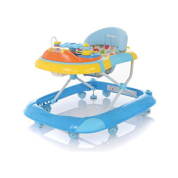 Ходунки Step, Baby Care, голубойХодунки<br>Характеристики товара:<br><br>• возраст от 6 до 18 месяцев;<br>• допустимый вес эксплуатации: 12 кг<br>• материал: пластик;<br>• регулировка по высоте в 3 положениях;<br>• съемная игровая панель со световыми эффектами;<br>• 8 силиконовых колёс;<br>• 2 стопора для фиксации ходунков<br>• текстиль можно снять для стирки<br>• размер ходунков 61х71х52 см;<br>• вес 4,3 кг;<br>• размер упаковки 72х62х12 см;<br>• вес упаковки 5,2 кг.<br><br>Ходунки Baby Care Step учат малыша передвигаться самостоятельно и держать равновесие. Ходунки оборудованы сидением с мягкой обивкой. Высоту сидения можно отрегулировать по мере роста малыша. Спереди расположена игровая панель со световыми эффектами. В процессе игры у него развиваются мелкая моторика рук, цветовое и зрительное восприятие. Конструкция отличается хорошей устойчивостью благодаря широкому основанию. Колеса изготовлены из силикона и не повреждают напольное покрытие. На основании имеются 2 стопора для фиксации ходунков.<br><br>Ходунки Baby Care Step голубые можно приобрести в нашем интернет-магазине.<br><br>Ширина мм: 720<br>Глубина мм: 620<br>Высота мм: 120<br>Вес г: 5200<br>Возраст от месяцев: 7<br>Возраст до месяцев: 12<br>Пол: Унисекс<br>Возраст: Детский<br>SKU: 5493373