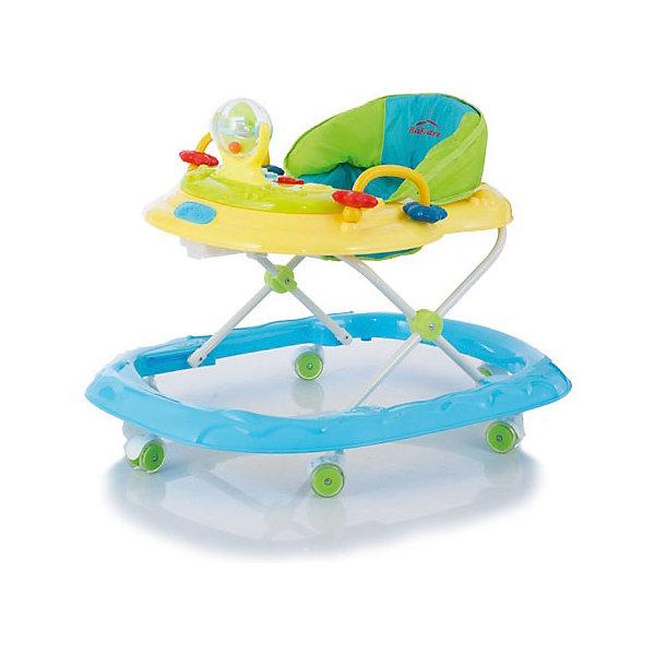Ходунки Walker, Baby Care, светло-желтыйХодунки<br>Характеристики товара:<br><br>• возраст от 6 месяцев;<br>• максимальная нагрузка: 12 кг<br>• материал: пластик;<br>• регулировка по высоте в 5 положениях;<br>• съёмная игровая панель со световыми и звуковыми эффектами;<br>• 6 силиконовых колес;<br>• текстиль можно снять для стирки<br>• размер ходунков 61х76х53 см;<br>• вес 3,1 кг;<br>• размер упаковки 77х61х12 см;<br>• вес упаковки 3,7 кг.<br><br>Ходунки Baby Care Walker научат малыша самостоятельно ходить, держать равновесие и координировать движения. Ходунки оборудованы сидением с мягкой обивкой. Высоту сидения можно отрегулировать по мере роста малыша. Спереди расположена игровая панель со световыми и звуковыми эффектами. Сняв панель, ее можно использовать и отдельно для игр. В процессе игры у ребенка развиваются мелкая моторика рук, цветовое и зрительное восприятие, музыкальный слух. Конструкция отличается хорошей устойчивостью благодаря широкому основанию. Колеса изготовлены из силикона и не повреждают напольное покрытие. Легко и просто складываются гармошкой для хранения дома.<br><br>Ходунки Baby Care Walker можно приобрести в нашем интернет-магазине.<br><br>Ширина мм: 770<br>Глубина мм: 610<br>Высота мм: 120<br>Вес г: 3700<br>Возраст от месяцев: 7<br>Возраст до месяцев: 12<br>Пол: Унисекс<br>Возраст: Детский<br>SKU: 5493378