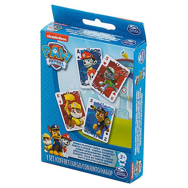 Настольная игра, Щенячий Патруль, Spin MasterНастольные игры для всей семьи<br>Характеристики:<br><br>• Количество игроков: от 2-х человек<br>• Материал: бумага, пластик<br>• Комплектация: карты, инструкция, коробка<br>• Размеры карт: 9*12 см<br>• Количество вариантов игр: 5 и более<br>• Вес в упаковке: 202 г<br>• Размеры упаковки (Г*Ш*В): 10*13*2 см<br>• Упаковка: картонная коробка <br><br>Настольная игра, Щенячий Патруль, Spin Master – это комплект игральных карт, выполненных по мотивам одноименного мультсериала для детей. Набор включает в себя карты с героями мультсериала. Все карты выполнены из плотной глянцевой бумаги, изображение на них нанесено яркими устойчивыми красками, которые не имеют запаха и не выцветают со временем. Набор карт позволяет играть в классические карточные игры. Количество вариантов игр ограничивается только фантазией игроков.<br> <br>Настольную игру, Щенячий Патруль, Spin Master можно купить в нашем интернет-магазине.<br>Ширина мм: 100; Глубина мм: 130; Высота мм: 20; Вес г: 202; Возраст от месяцев: 36; Возраст до месяцев: 2147483647; Пол: Унисекс; Возраст: Детский; SKU: 5493553;
