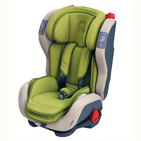 Автокресло Avionaut EVOLVAIR, 9-36кг, ОливковыйГруппа 1-2-3  (от 9 до 36 кг)<br>Характеристики товара:<br><br>• группа автокресла: 1-2-3;<br>• возраст: от 9 месяцев до 12 лет;<br>• вес ребенка: 9-36 кг;<br>• материал: пластик, полиэстер;<br>• 5-ти точечные ремни безопасности;<br>• регулировка наклона спинки;<br>• регулировка подголовника;<br>• установка автокресла: по ходу движения;<br>• способ крепления: штатными ремнями автомобиля;<br>• размер автокресла: 46х59х50 см;<br>• вес автокресла: 8,2 кг;<br>• размер упаковки: 47х69х69 см;<br>• вес упаковки: 9,5 кг;<br>• страна производитель: Польша.<br><br>Автокресло Avionaut Evolvair оливковое обеспечивает надежную защиту малыша при перевозке в автомобиле. Оно устанавливается на пассажирском сидении при помощи штатных ремней. Каркас сделан из ударопрочного пластика, а специальный наполнитель поглощает основной удар, защищая ребенка от травм.<br><br>Внутри сидения имеется цветной вкладыш и мягкий подголовник с поддержкой головы. Регулируемый по высоте подголовник и боковины по ширине позволяют использовать кресло не один год и подгонять его под растущего ребенка. Спинку можно опустить рычагом, чтобы малыш в поездке могу отдохнуть и поспать.<br><br>Автокресло Avionaut Evolvair оливковое можно приобрести в нашем интернет-магазине.<br>Ширина мм: 470; Глубина мм: 690; Высота мм: 690; Вес г: 8200; Возраст от месяцев: -2147483648; Возраст до месяцев: 2147483647; Пол: Унисекс; Возраст: Детский; SKU: 5500147;