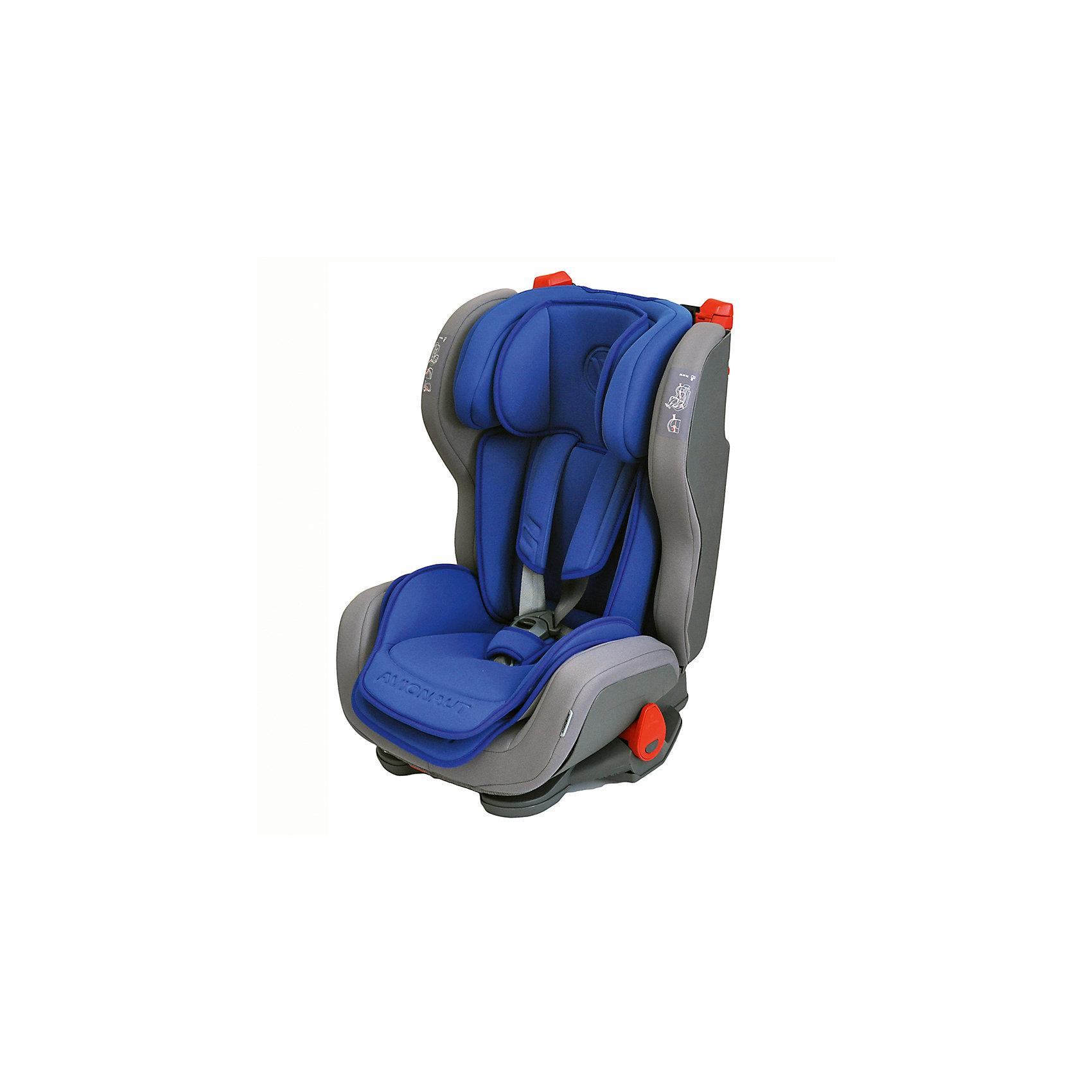 Автокресло Avionaut EVOLVAIR, 9-36кг, Т-синийГруппа 1-2-3 (От 9 до 36 кг)<br>Характеристики товара:<br><br>• группа автокресла: 1-2-3;<br>• возраст: от 9 месяцев до 12 лет;<br>• вес ребенка: 9-36 кг;<br>• материал: пластик, полиэстер;<br>• 5-ти точечные ремни безопасности;<br>• регулировка наклона спинки;<br>• регулировка подголовника;<br>• установка автокресла: по ходу движения;<br>• способ крепления: штатными ремнями автомобиля;<br>• размер автокресла: 46х59х50 см;<br>• вес автокресла: 8,2 кг;<br>• размер упаковки: 47х69х69 см;<br>• вес упаковки: 9,5 кг;<br>• страна производитель: Польша.<br><br>Автокресло Avionaut Evolvair темно-синее обеспечивает надежную защиту малыша при перевозке в автомобиле. Оно устанавливается на пассажирском сидении при помощи штатных ремней. Каркас сделан из ударопрочного пластика, а специальный наполнитель поглощает основной удар, защищая ребенка от травм.<br><br>Внутри сидения имеется цветной вкладыш и мягкий подголовник с поддержкой головы. Регулируемый по высоте подголовник и боковины по ширине позволяют использовать кресло не один год и подгонять его под растущего ребенка. Спинку можно опустить рычагом, чтобы малыш в поездке могу отдохнуть и поспать.<br><br>Автокресло Avionaut Evolvair темно-синее можно приобрести в нашем интернет-магазине.<br><br>Ширина мм: 470<br>Глубина мм: 690<br>Высота мм: 690<br>Вес г: 8200<br>Возраст от месяцев: -2147483648<br>Возраст до месяцев: 2147483647<br>Пол: Унисекс<br>Возраст: Детский<br>SKU: 5500148