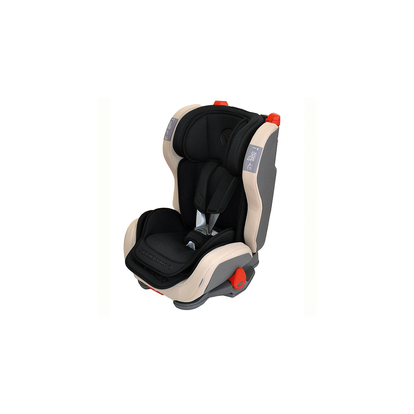 Автокресло Avionaut EVOLVAIR, 9-36кг, черныйГруппа 1-2-3 (От 9 до 36 кг)<br>Характеристики товара:<br><br>• группа автокресла: 1-2-3;<br>• возраст: от 9 месяцев до 12 лет;<br>• вес ребенка: 9-36 кг;<br>• материал: пластик, полиэстер;<br>• 5-ти точечные ремни безопасности;<br>• регулировка наклона спинки;<br>• регулировка подголовника;<br>• установка автокресла: по ходу движения;<br>• способ крепления: штатными ремнями автомобиля;<br>• размер автокресла: 46х59х50 см;<br>• вес автокресла: 8,2 кг;<br>• размер упаковки: 47х69х69 см;<br>• вес упаковки: 9,5 кг;<br>• страна производитель: Польша.<br><br>Автокресло Avionaut Evolvair черное обеспечивает надежную защиту малыша при перевозке в автомобиле. Оно устанавливается на пассажирском сидении при помощи штатных ремней. Каркас сделан из ударопрочного пластика, а специальный наполнитель поглощает основной удар, защищая ребенка от травм.<br><br>Внутри сидения имеется цветной вкладыш и мягкий подголовник с поддержкой головы. Регулируемый по высоте подголовник и боковины по ширине позволяют использовать кресло не один год и подгонять его под растущего ребенка. Спинку можно опустить рычагом, чтобы малыш в поездке могу отдохнуть и поспать.<br><br>Автокресло Avionaut Evolvair черное можно приобрести в нашем интернет-магазине.<br><br>Ширина мм: 470<br>Глубина мм: 690<br>Высота мм: 690<br>Вес г: 8200<br>Возраст от месяцев: -2147483648<br>Возраст до месяцев: 2147483647<br>Пол: Унисекс<br>Возраст: Детский<br>SKU: 5500150